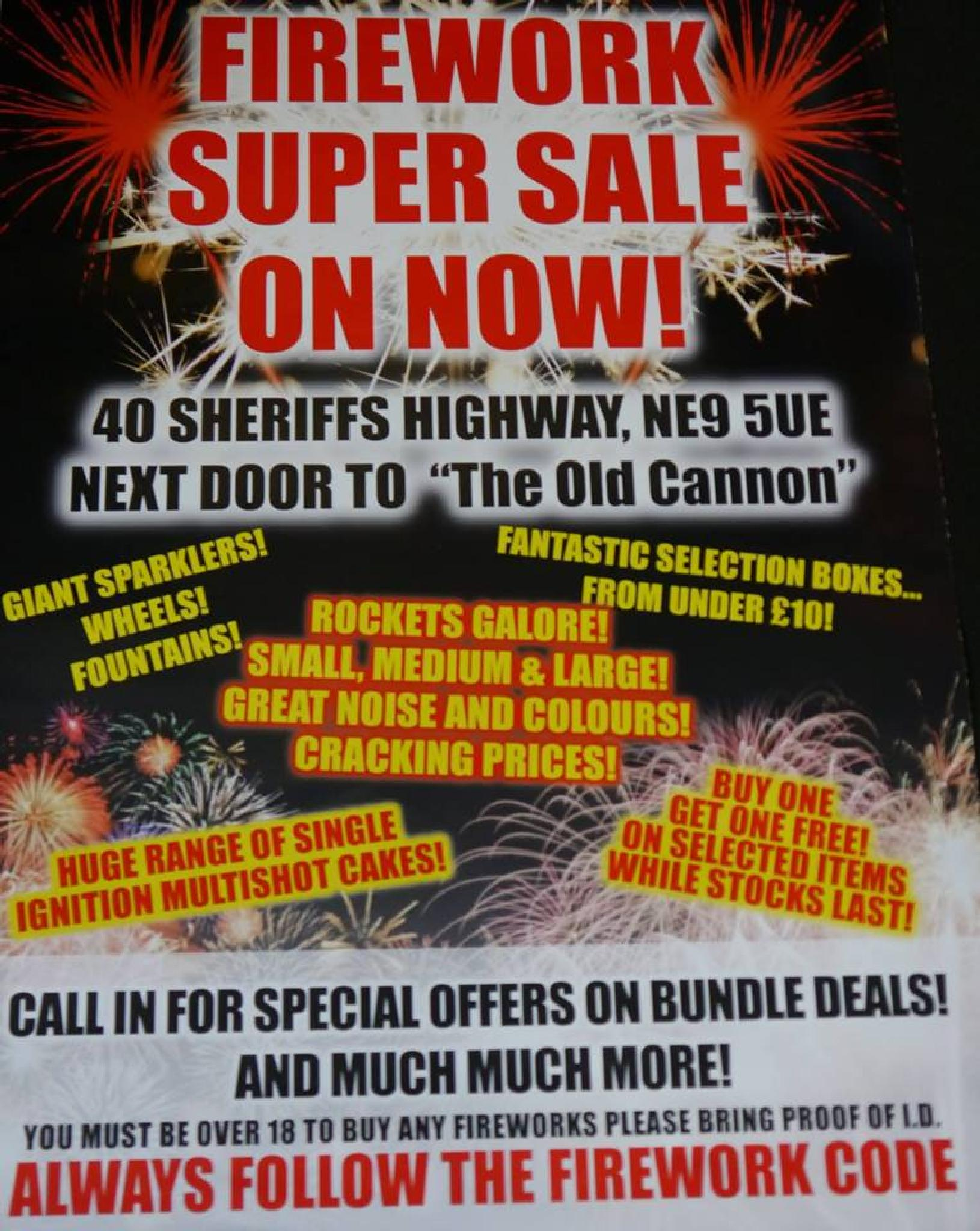 Quality Fireworks and amazing deals well worth a visit........ by Darren Turner
