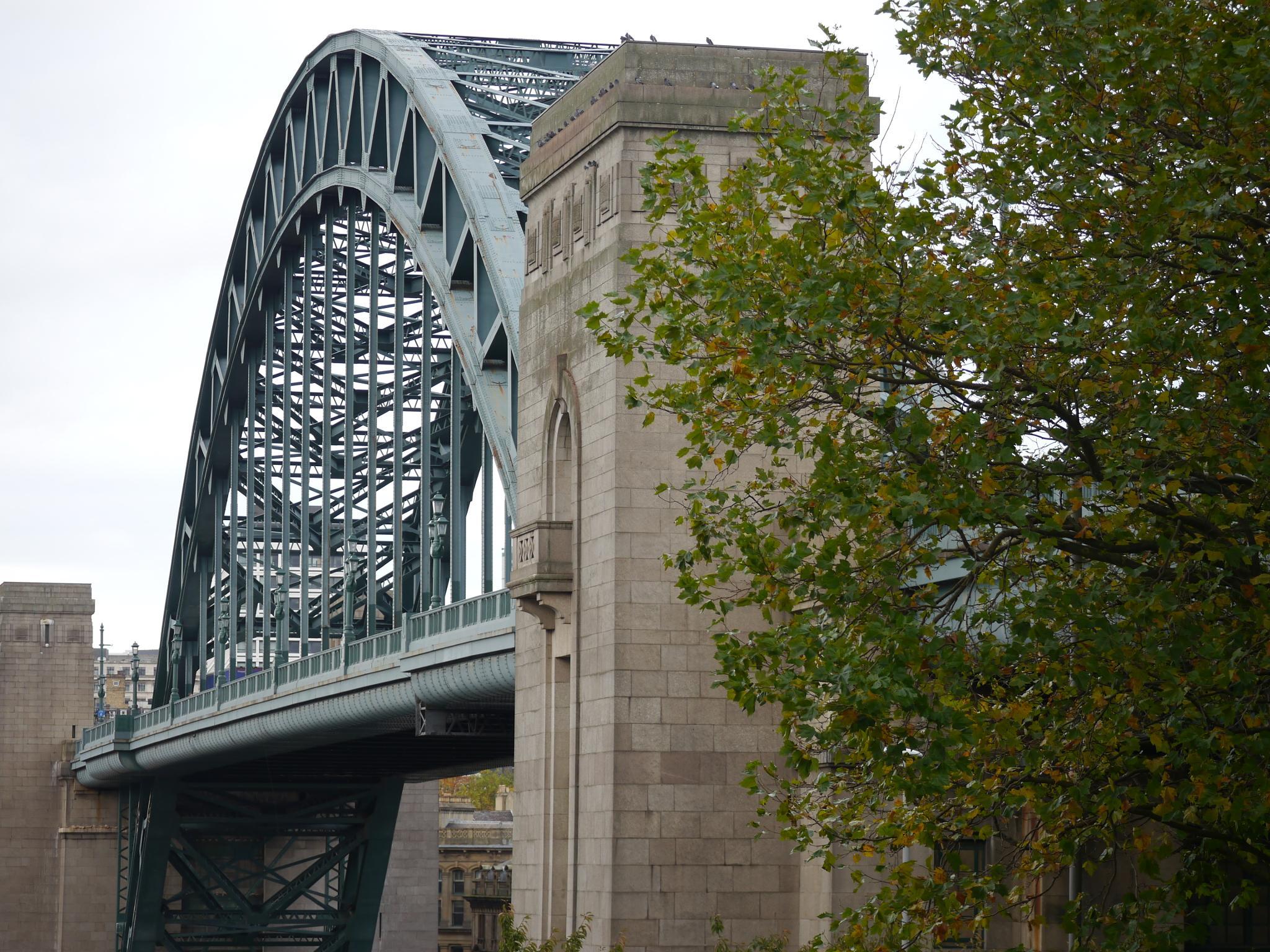 Tyne Bridge from the Gateshead side. by Darren Turner