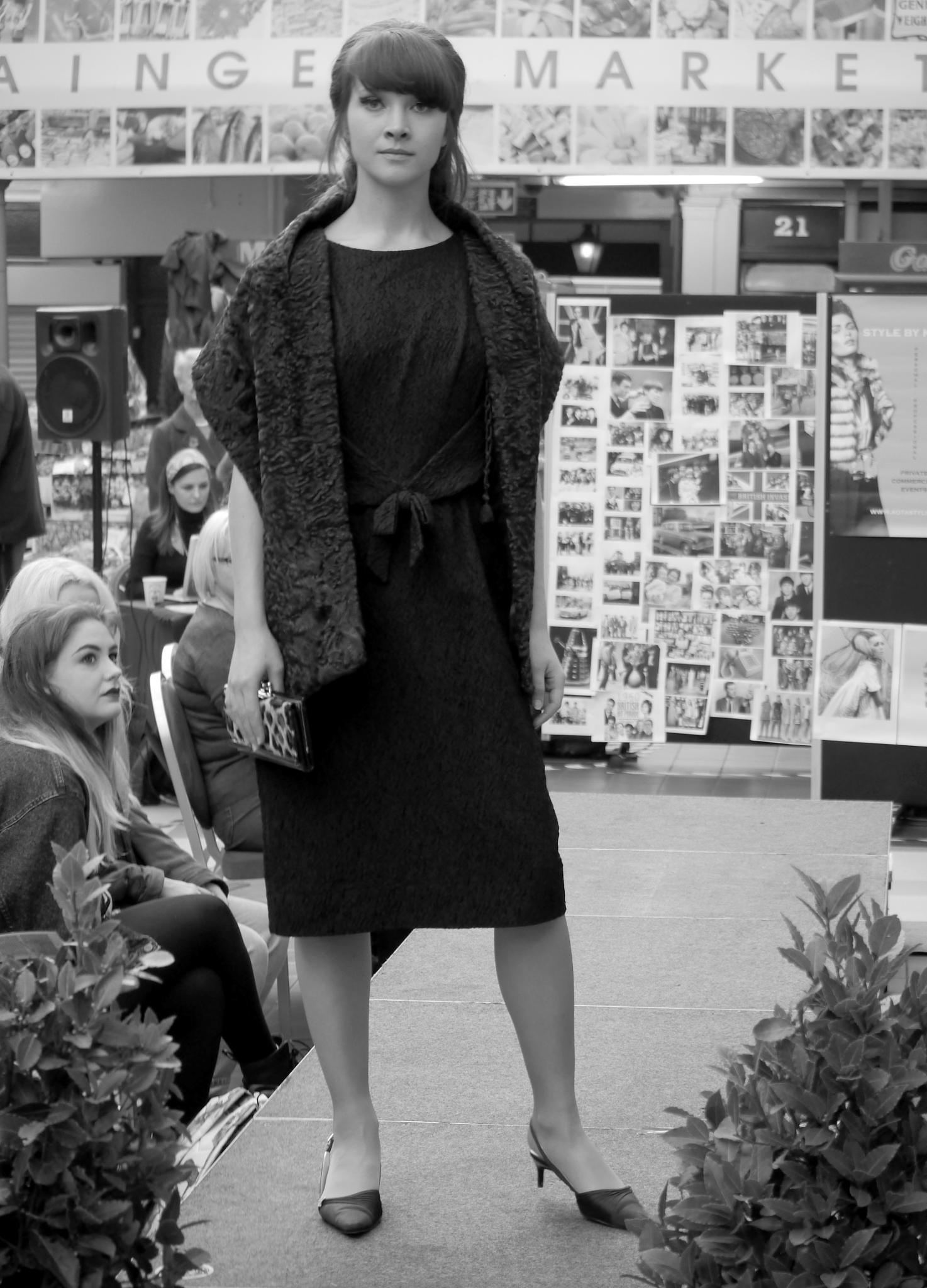 1960's Style Catwalk Show Grainger Market Newcastle. by Darren Turner