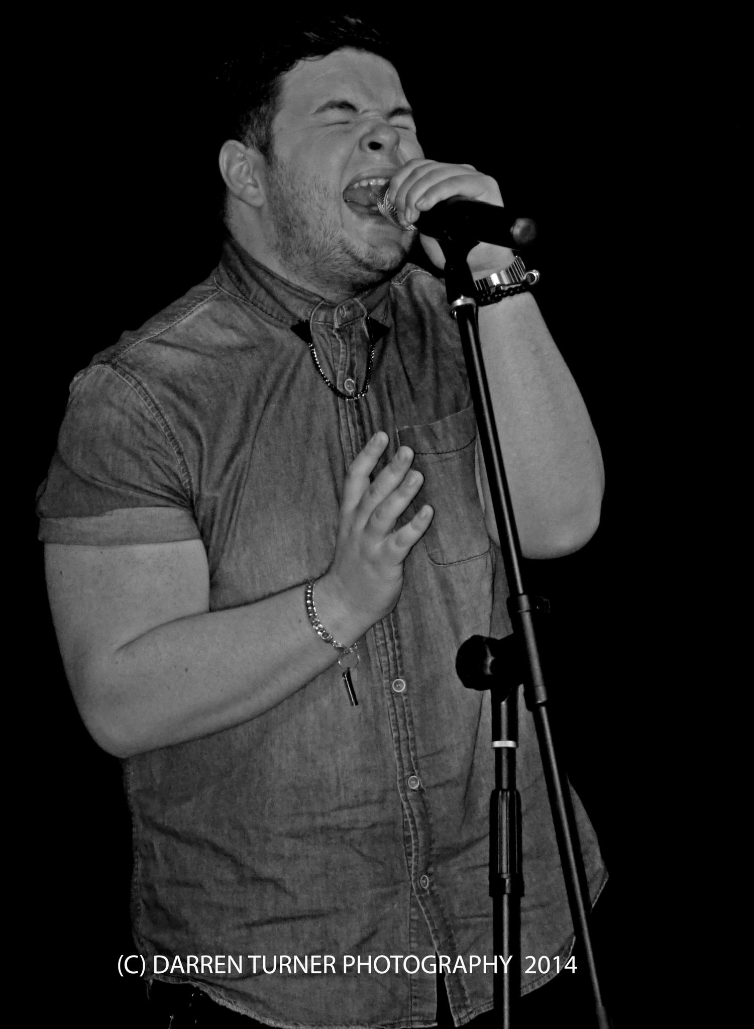 Paul Akister Star of the X Factor 2014........this is him in 2013 singing at the Wardley Club Gatesh by Darren Turner