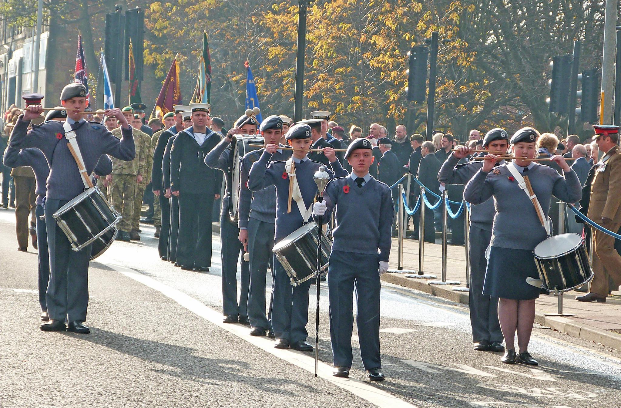 Rememberance Sunday Parade Gateshead 2014. by Darren Turner
