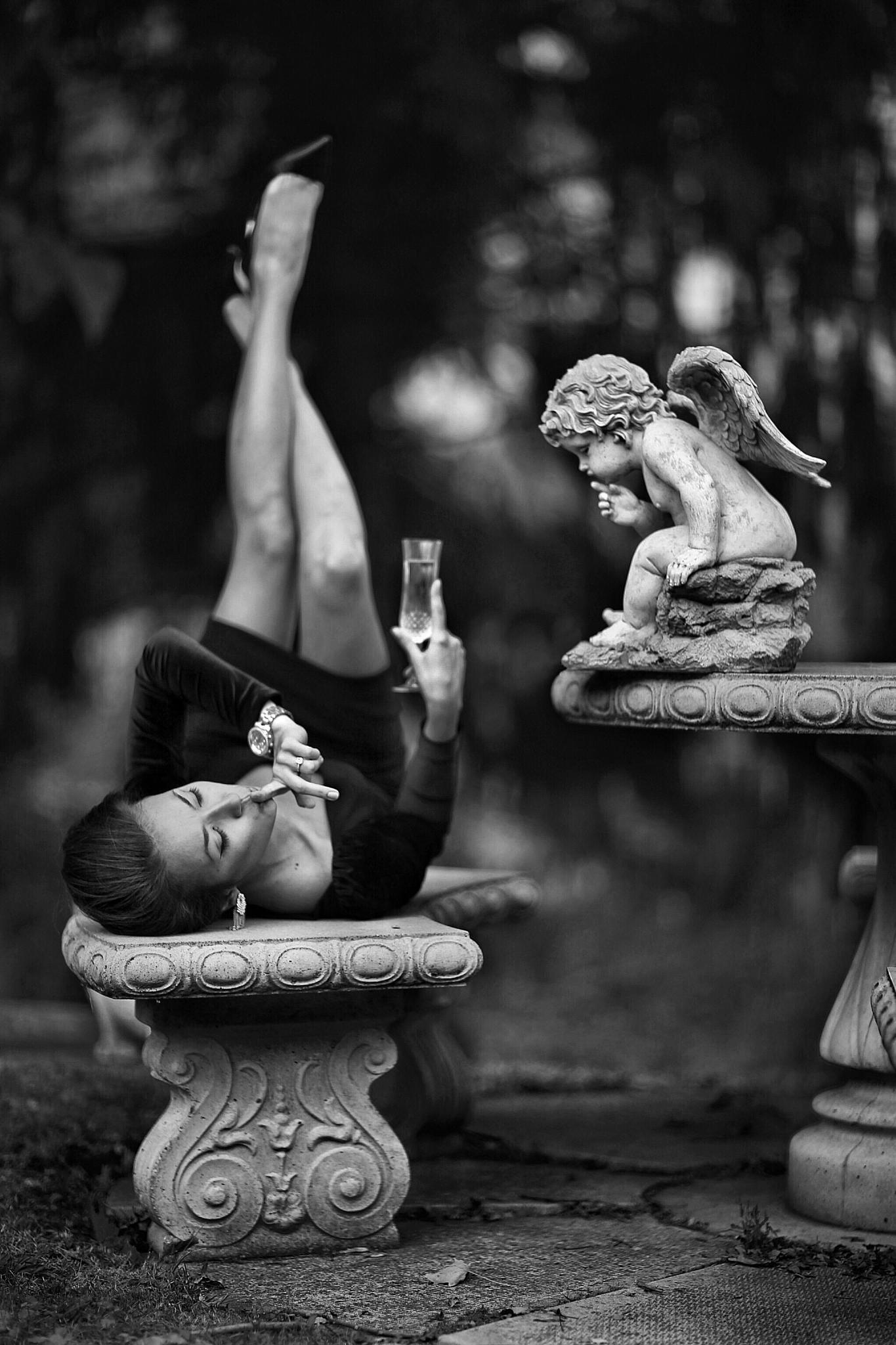 It, our secret, my little Angel... by Roman.Mordashev