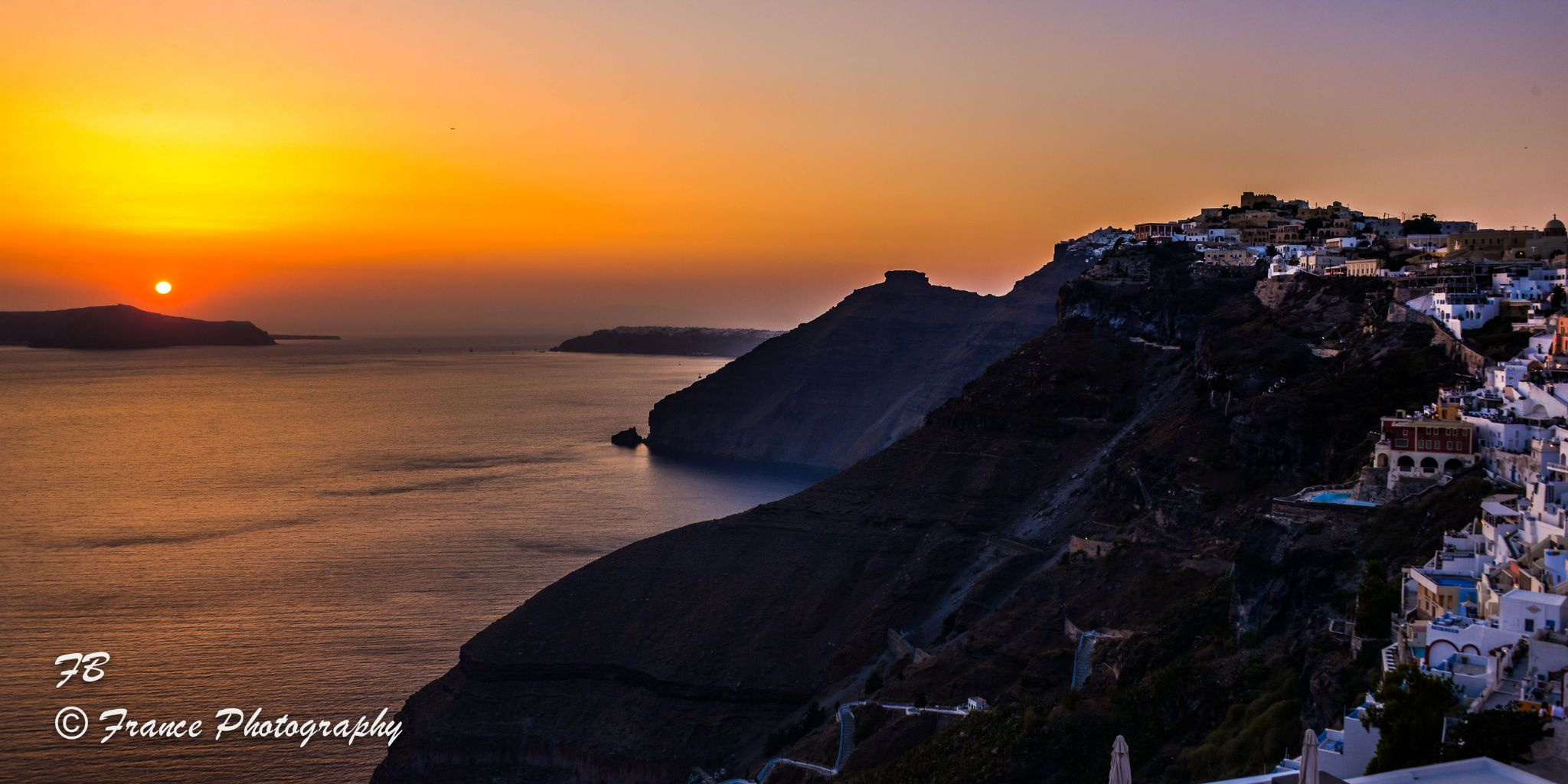 Sunset on the Caldeira by France Photography