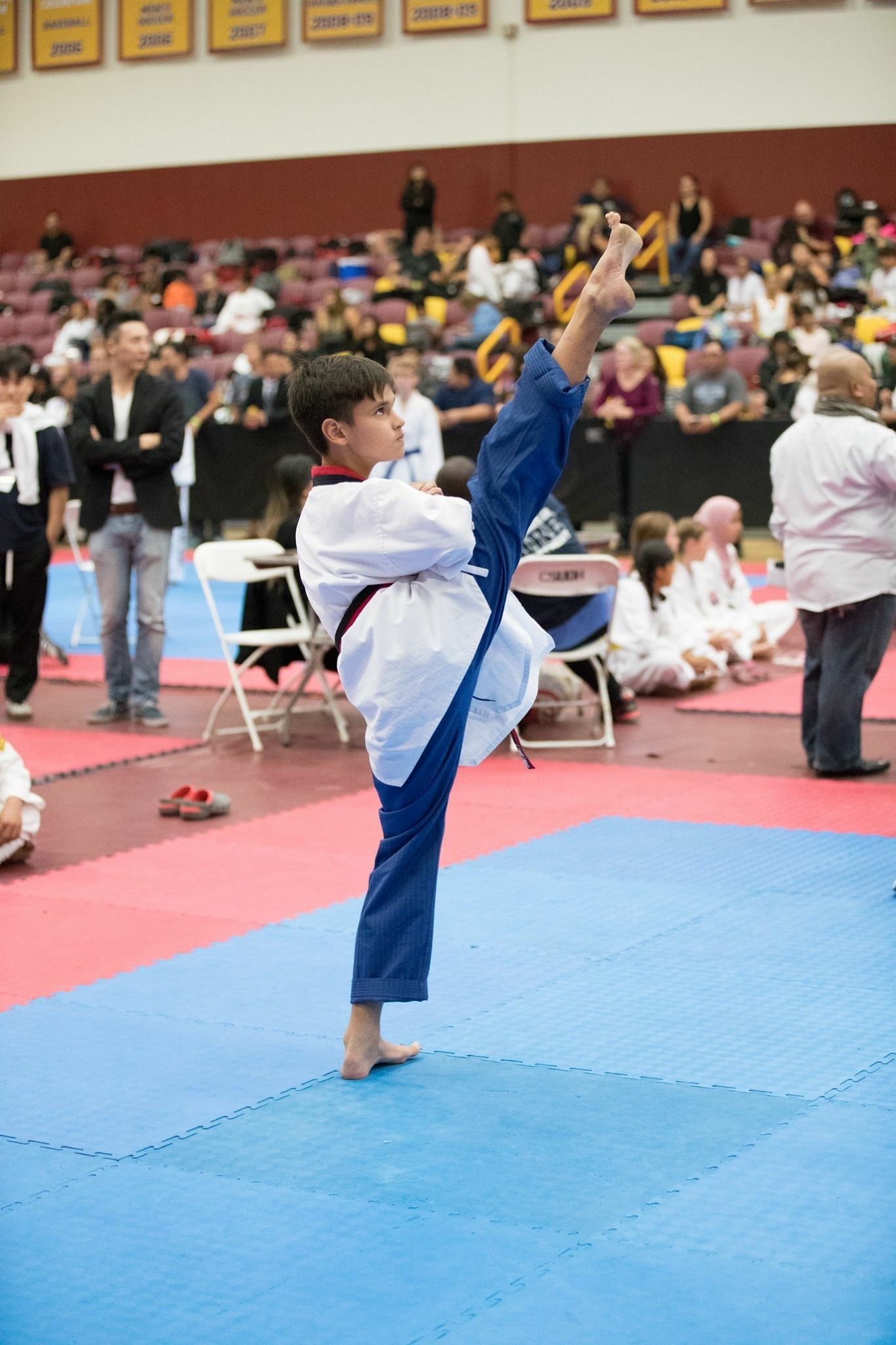 Red Belt Poomsae  by Guillermo A. Arce