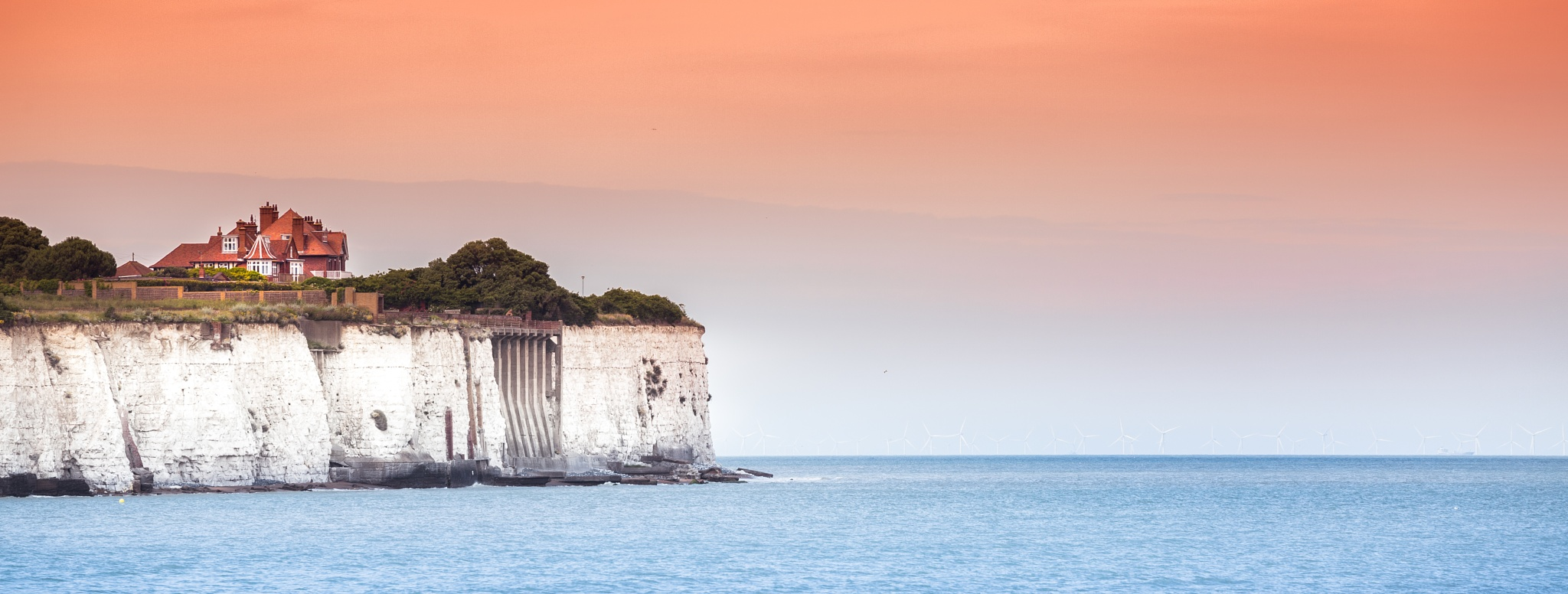 sunset on the cliffs by Tavi Ionescu