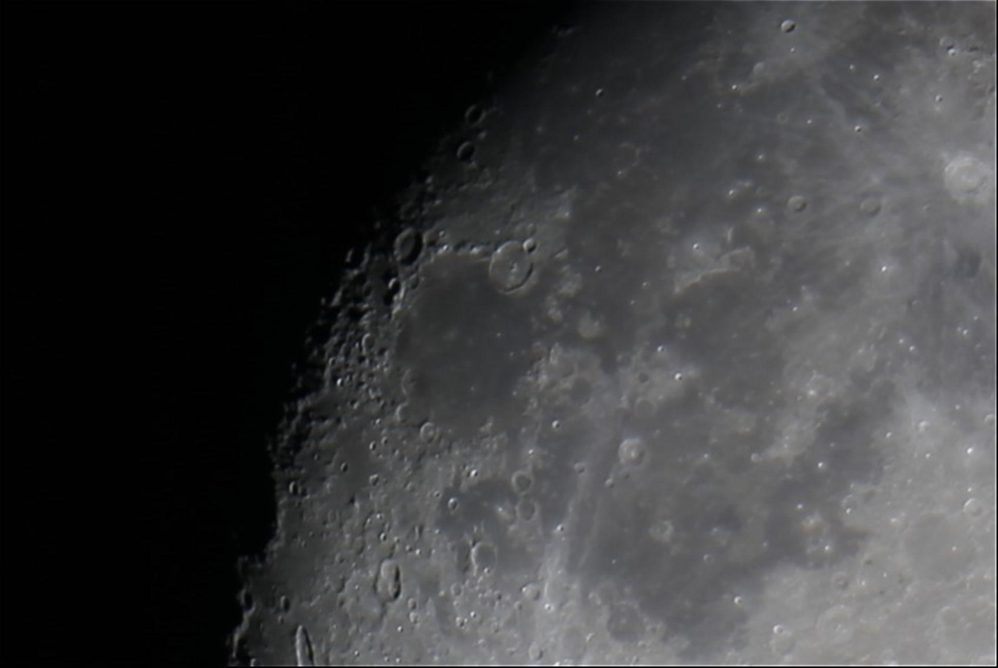 Moon on 9-5-14 by matthew.moseman