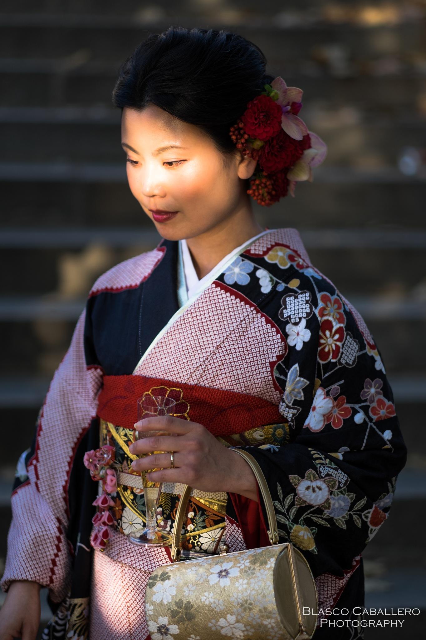 Japanese girl by Blasco Caballero