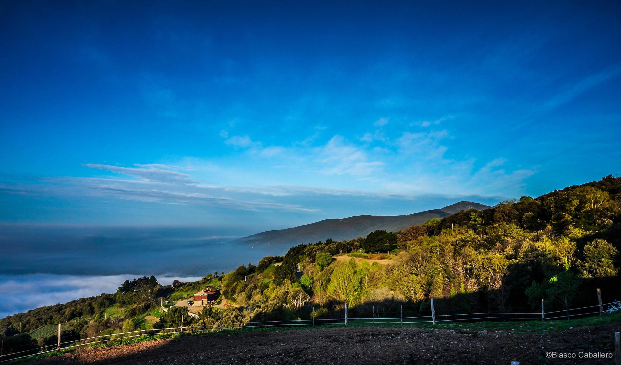 Montseny Landscape by Blasco Caballero