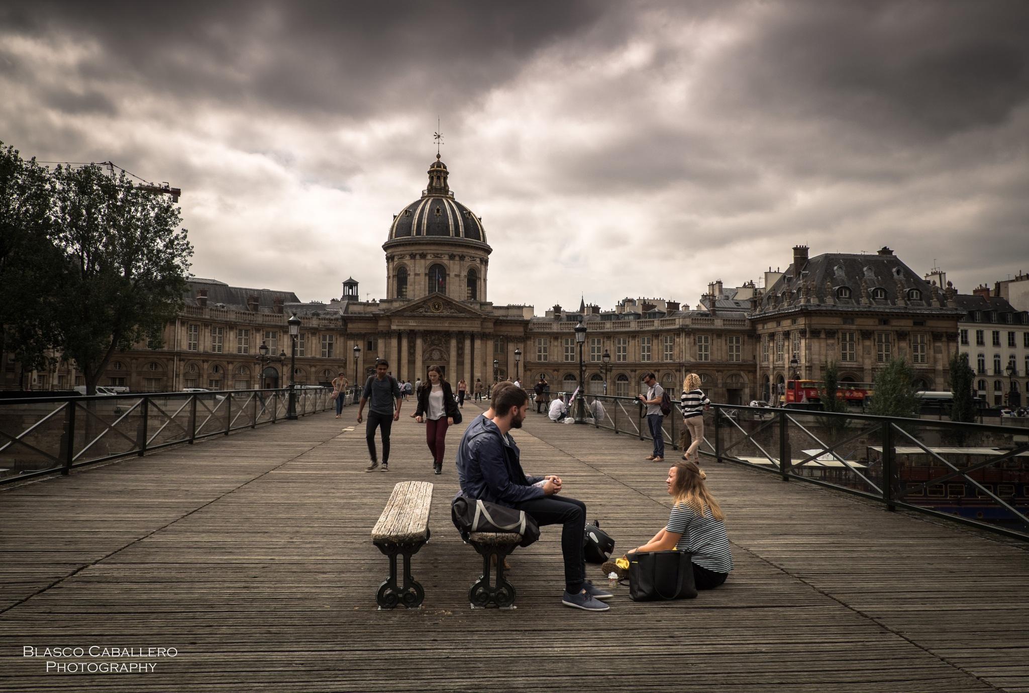 París Cityscape by Blasco Caballero