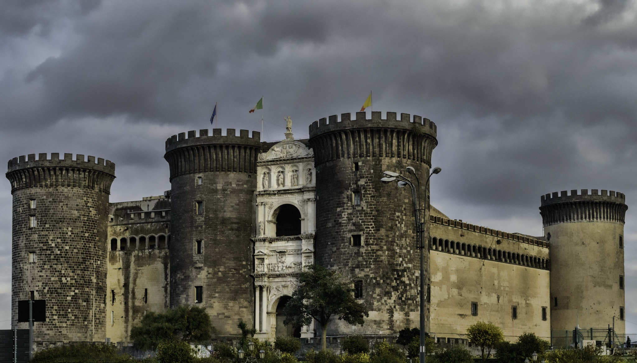 Castel Nuovo in Naples, Italy. by peter.busuttil