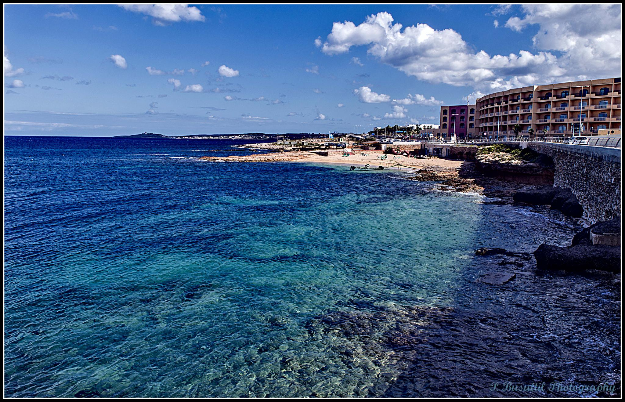 The northern tip of Malta by peter.busuttil