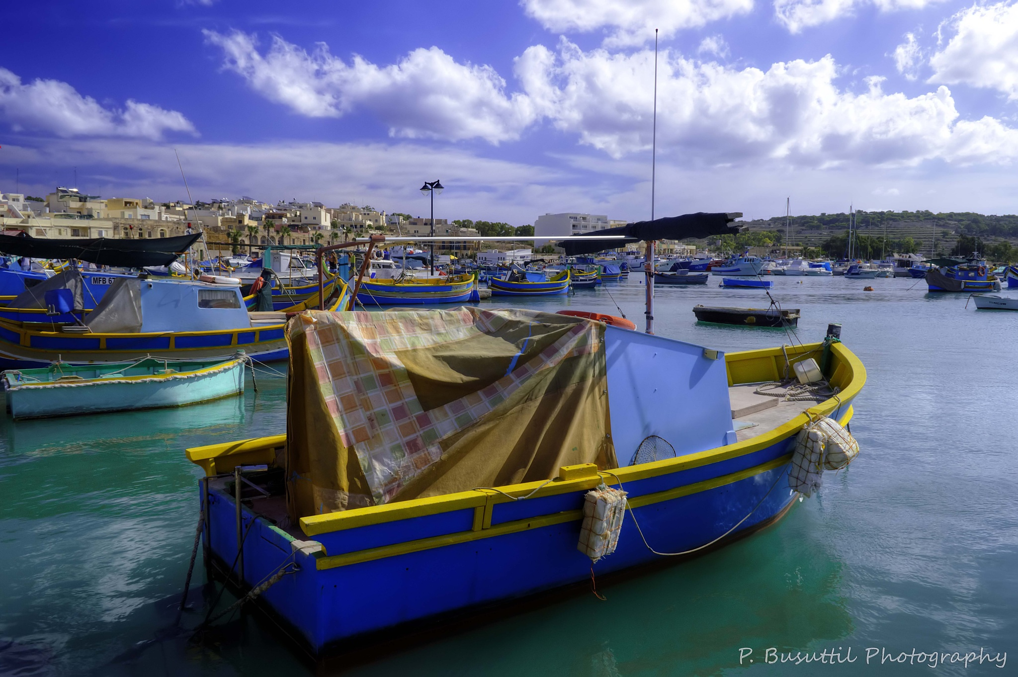 Maltese fishing boats by peter.busuttil