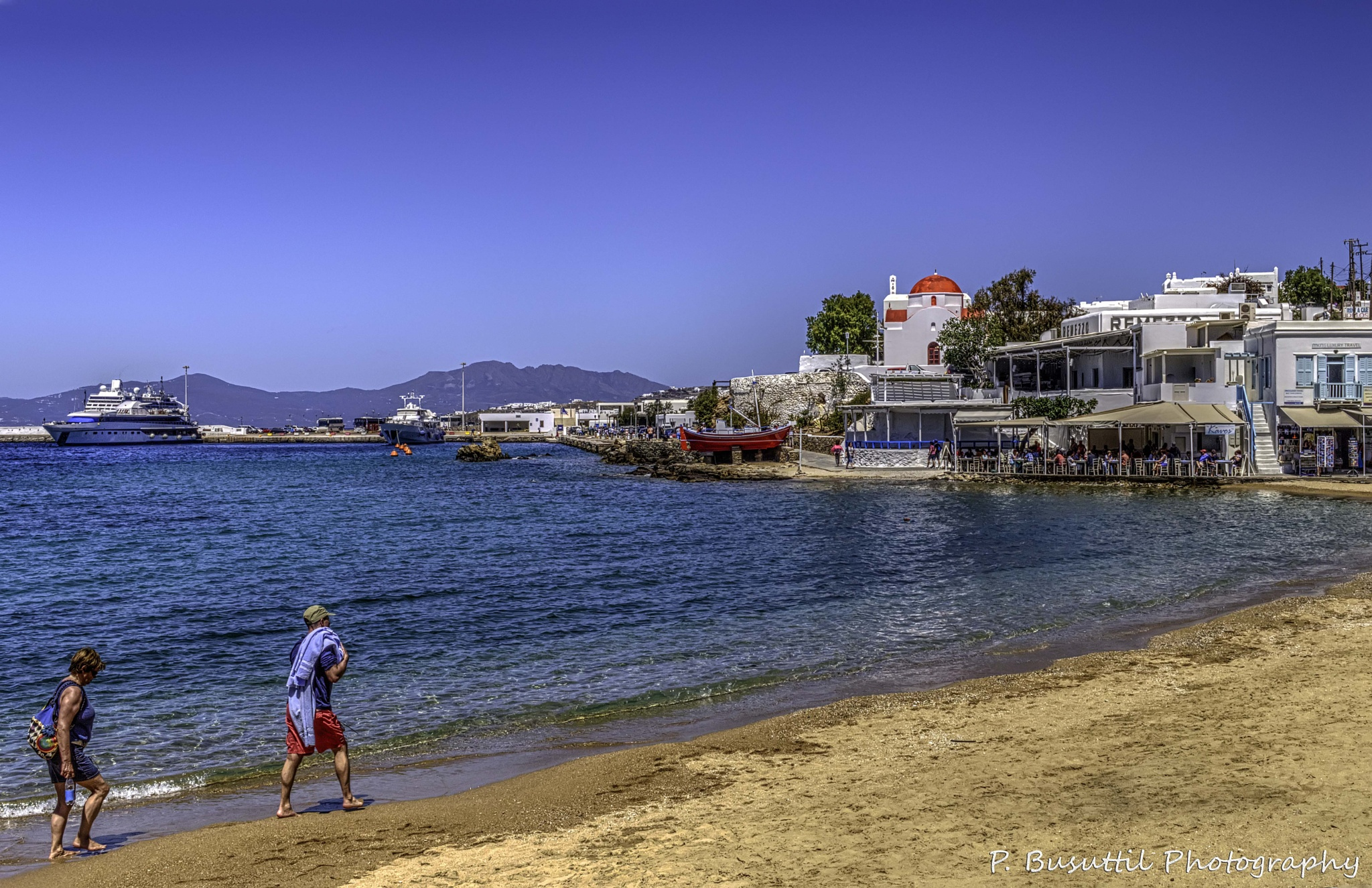 Strolling on the beach by peter.busuttil