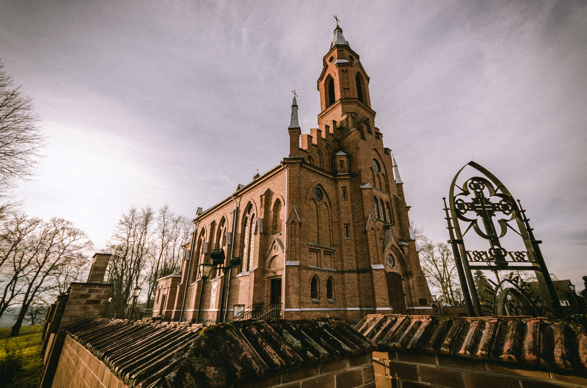 Church in Kernave by Keci