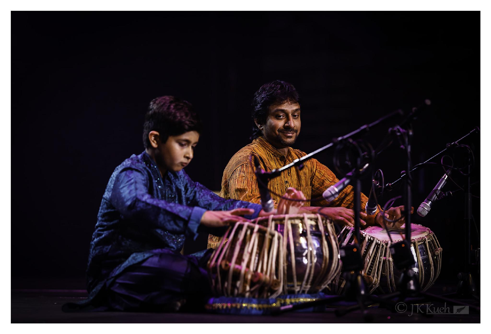 Photo in Concert #christchurch #diwali #drumming #two #lights #performance #stage