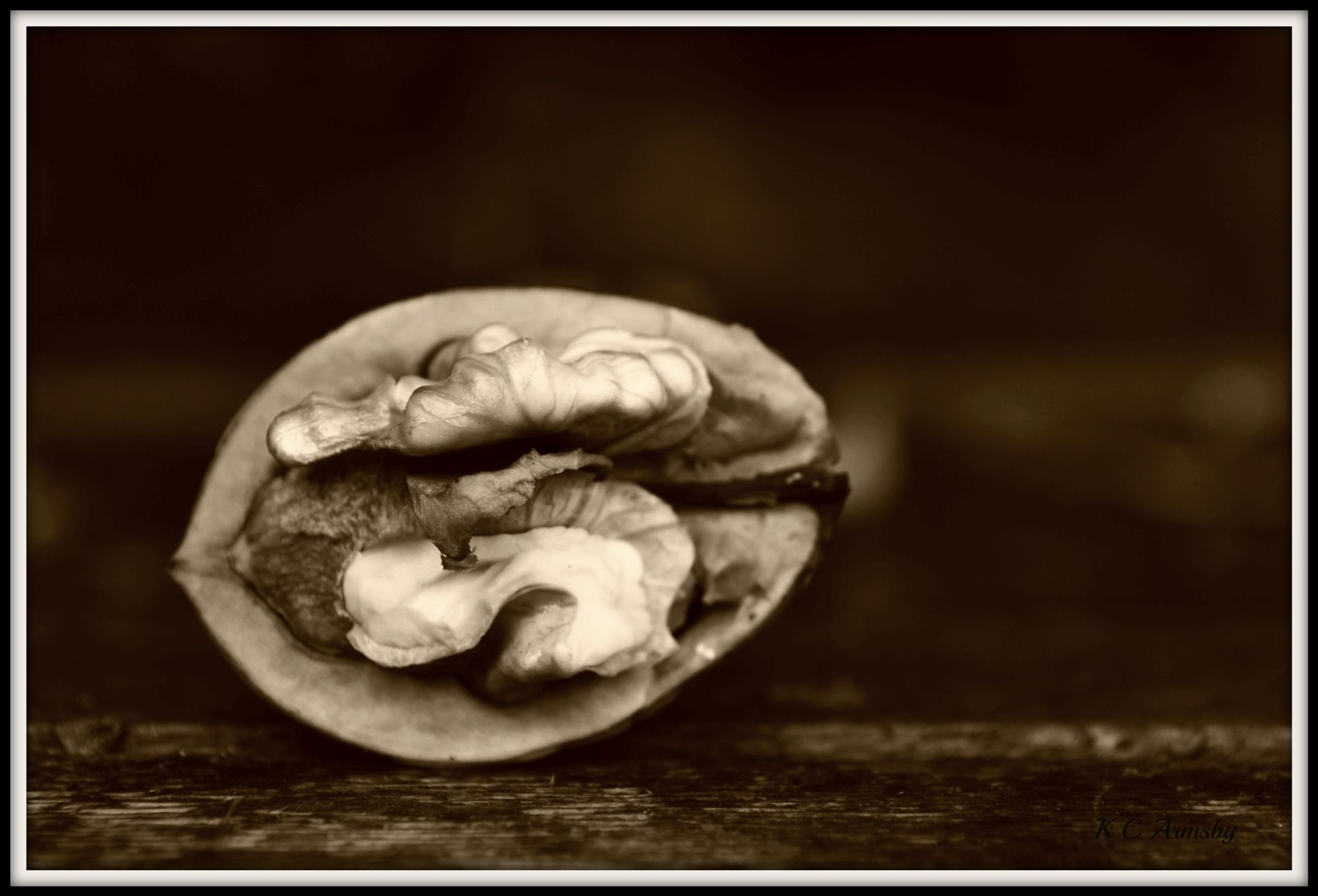 Walnut sepia by Charles