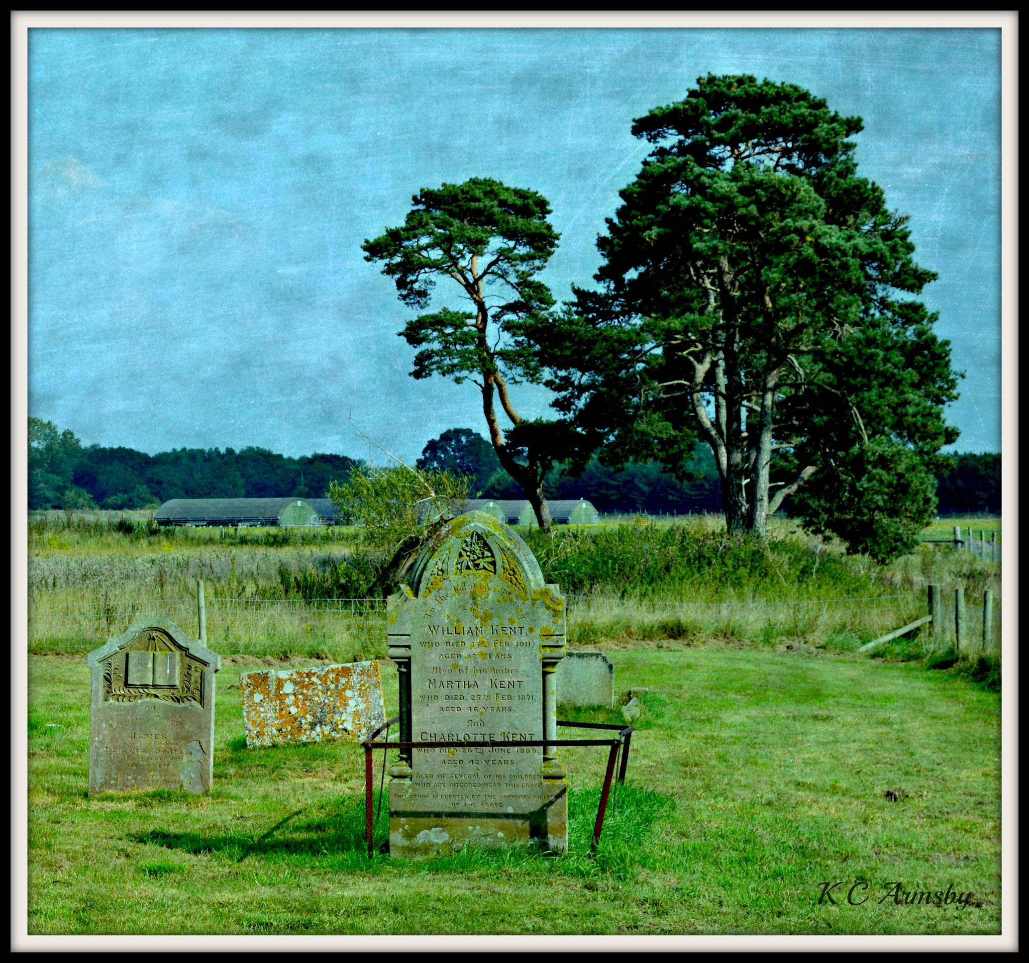 A very rural churchyard by Charles