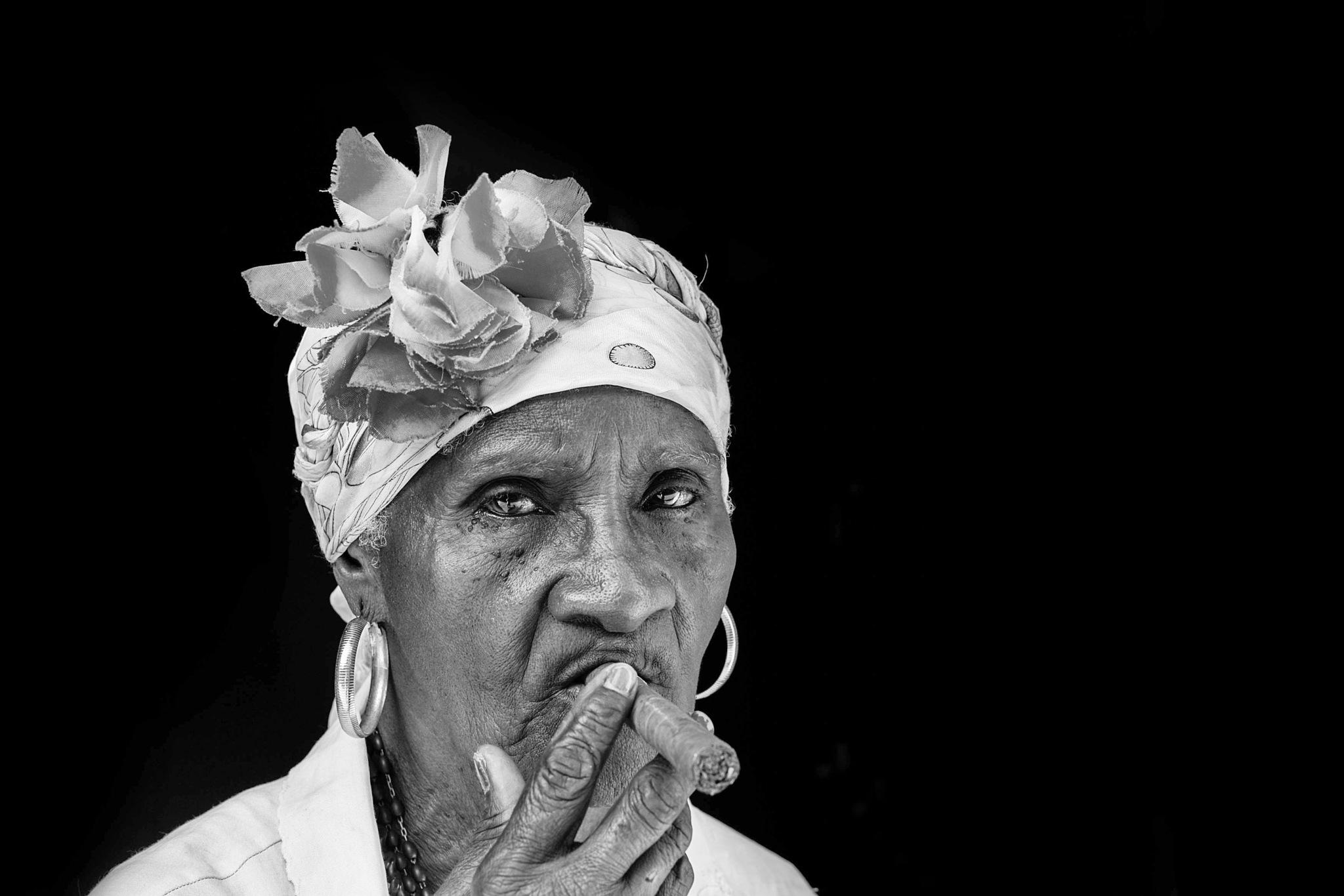 Cigar Puffer by Mahesh Krishnamurthy