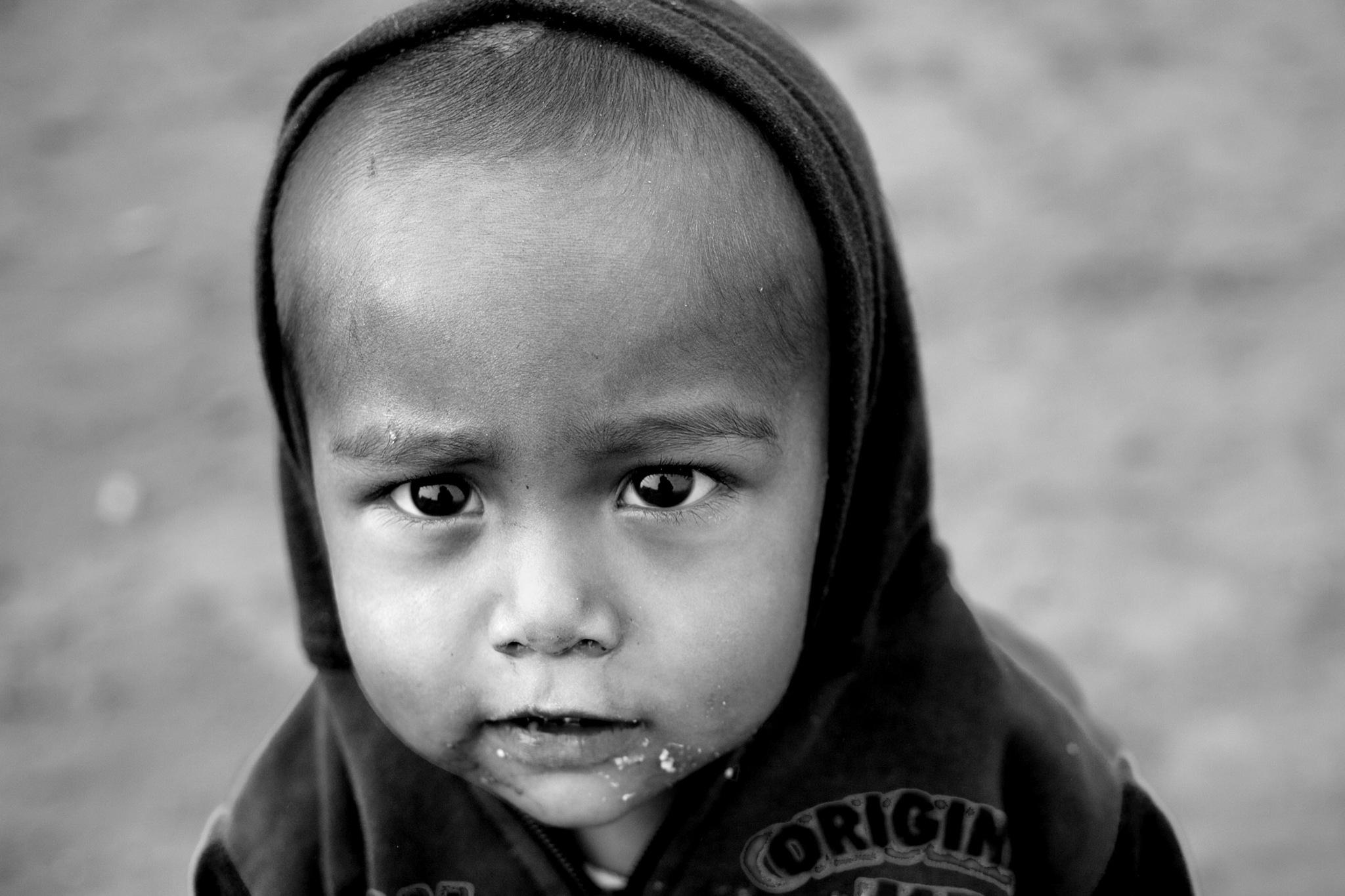 Laborer's Child by Mahesh Krishnamurthy