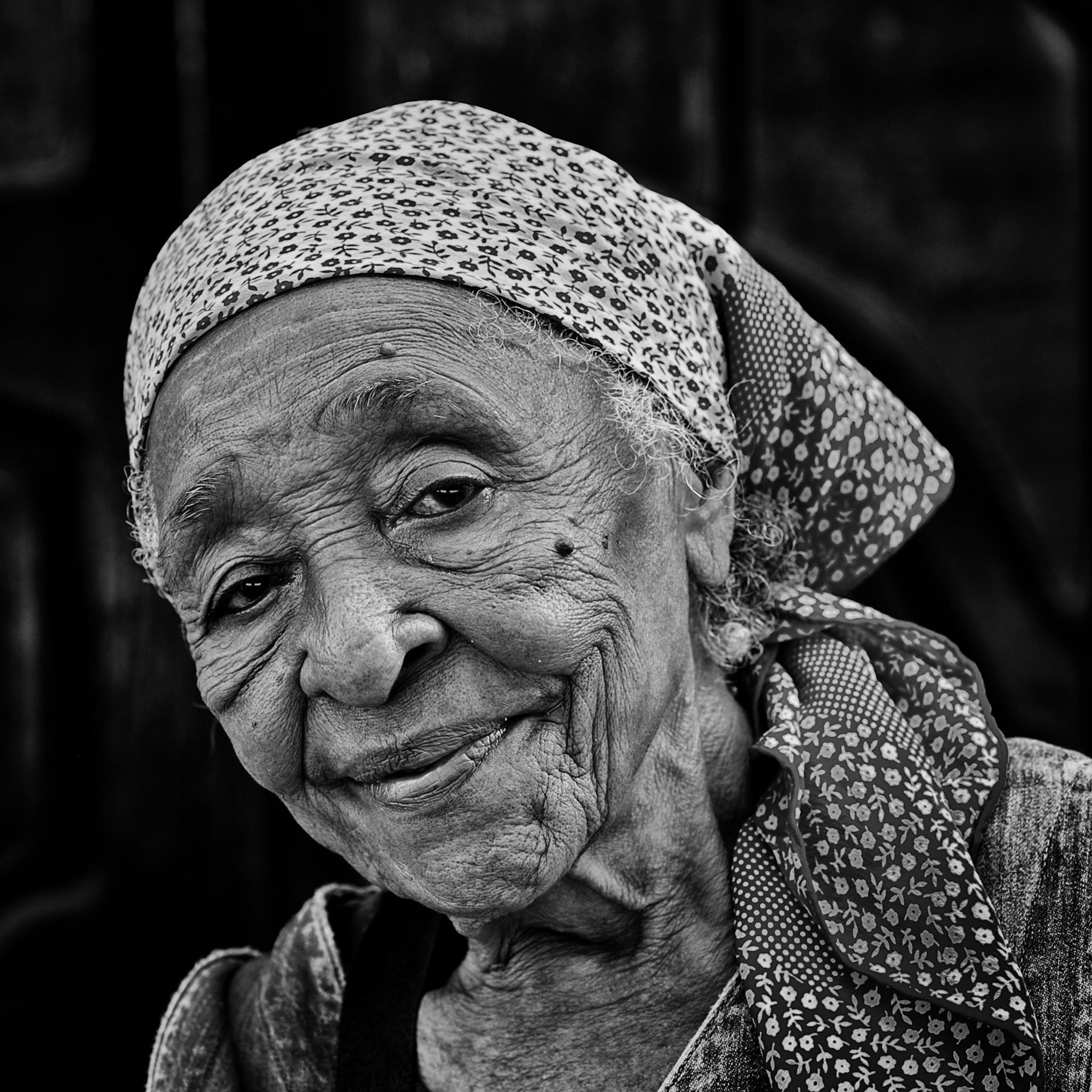 Benign Look by Mahesh Krishnamurthy
