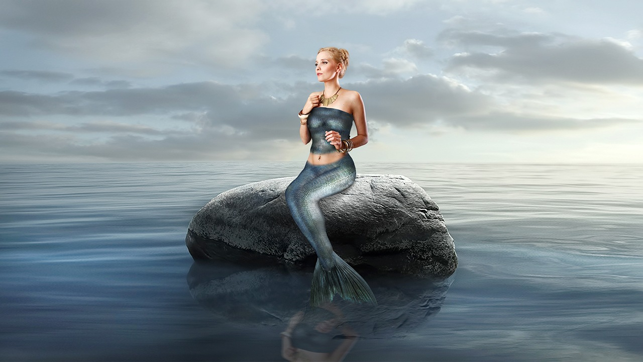 Mermaid girl by Mena.sapry