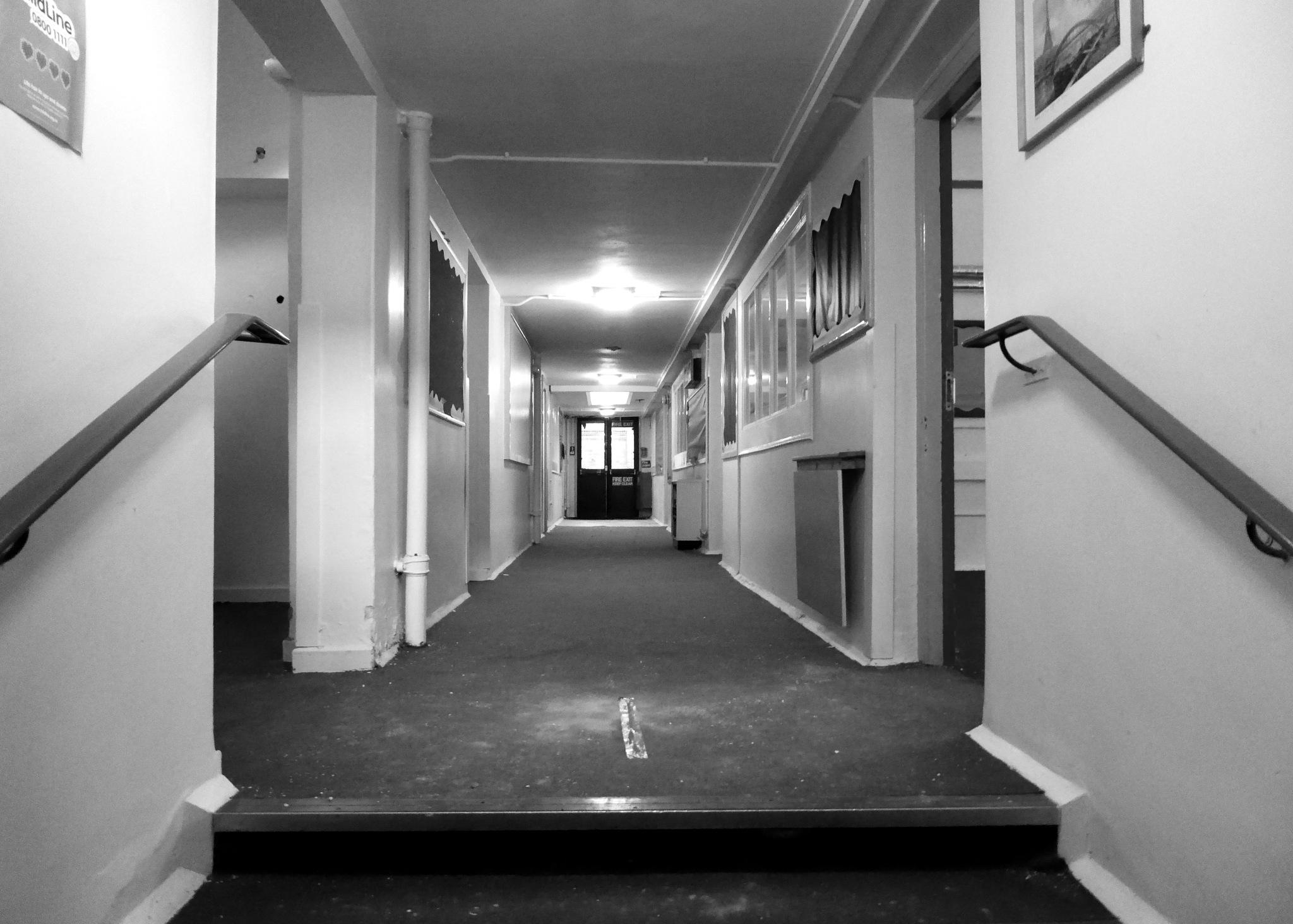school corridors by cheryl.ferrarkirkham