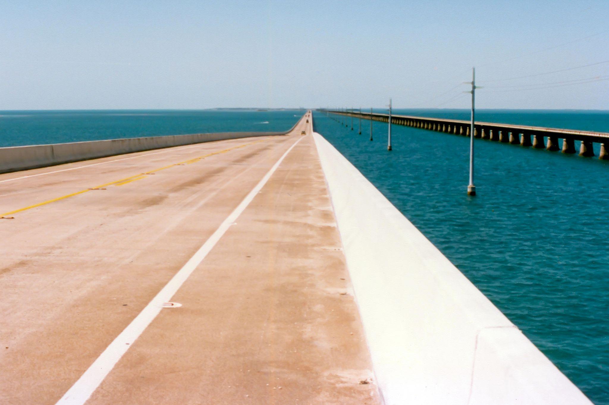 The 7 Mile Bridge by BadgerBob