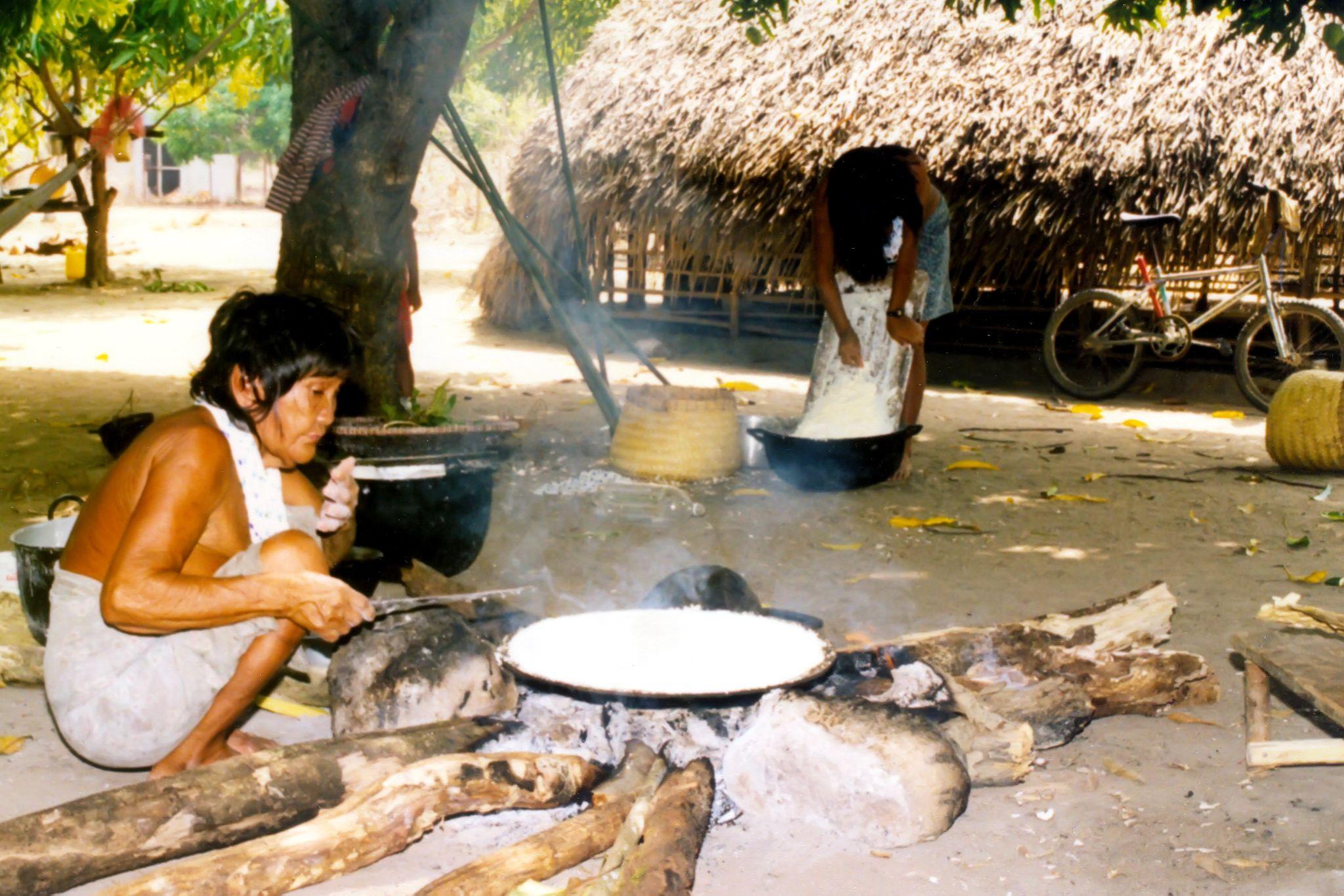 Panare Indian Village,  by BadgerBob