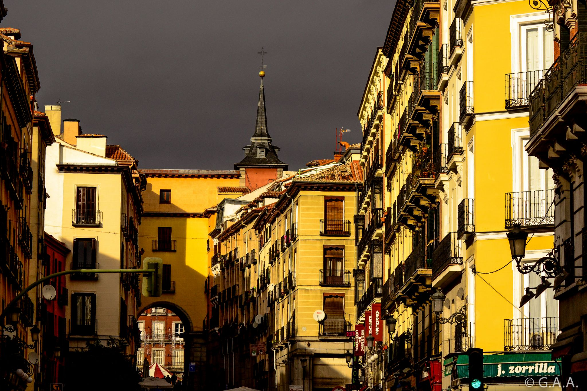 Weather in Madrid by Gabriel Abaurre Amaral