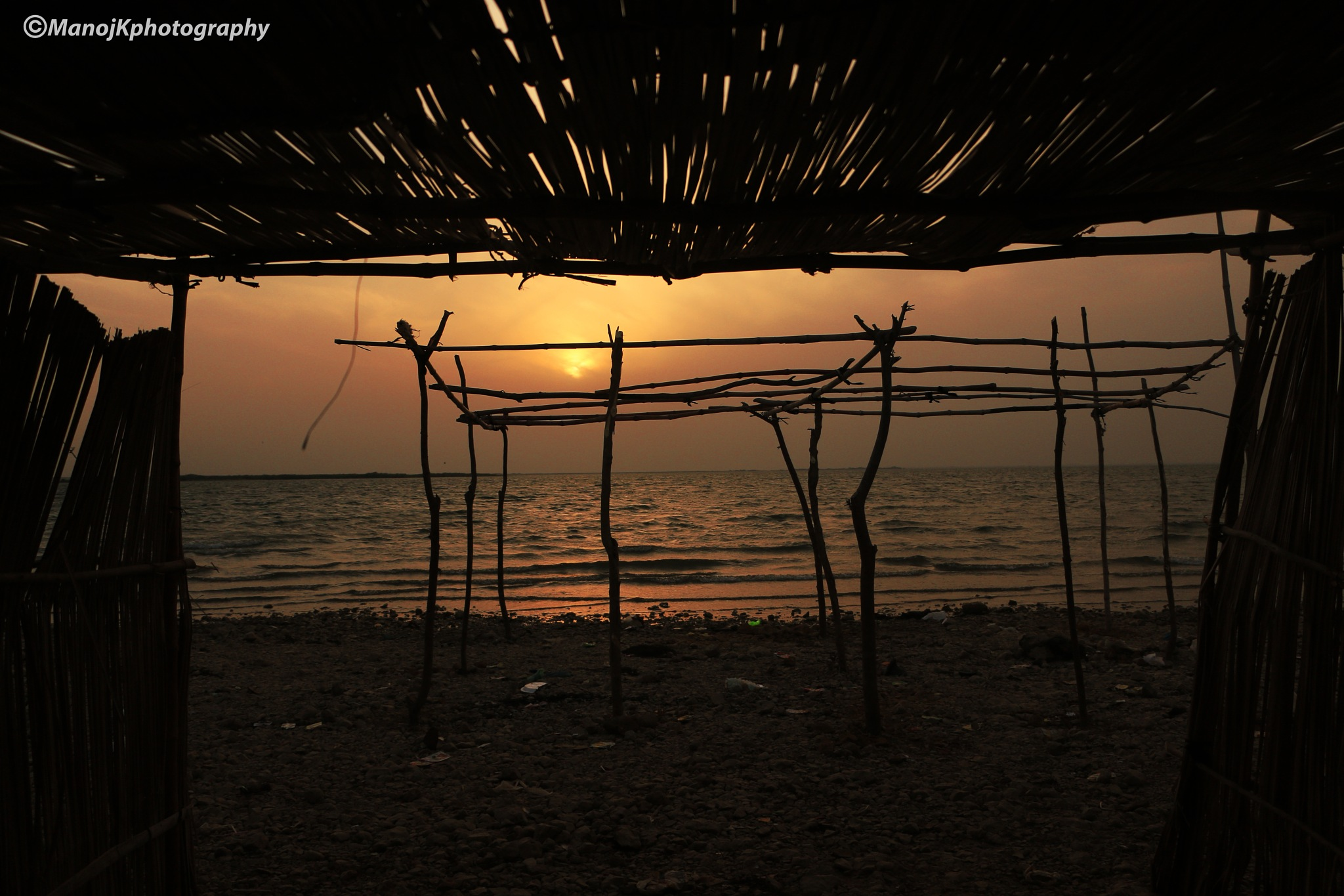Keenjhar Lake by Manoj Kumar Genani