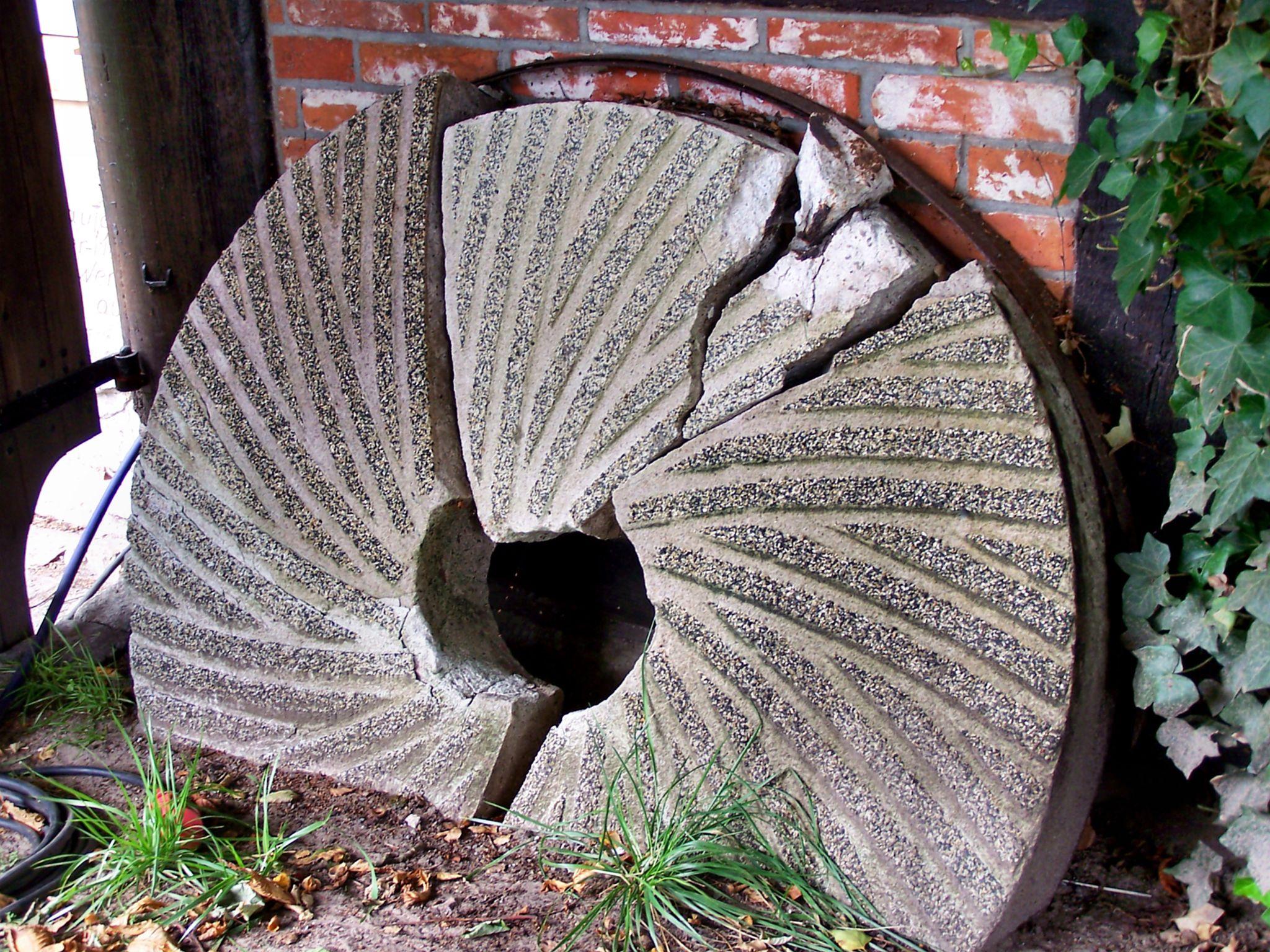 broken millstone by reinhard.tenzler