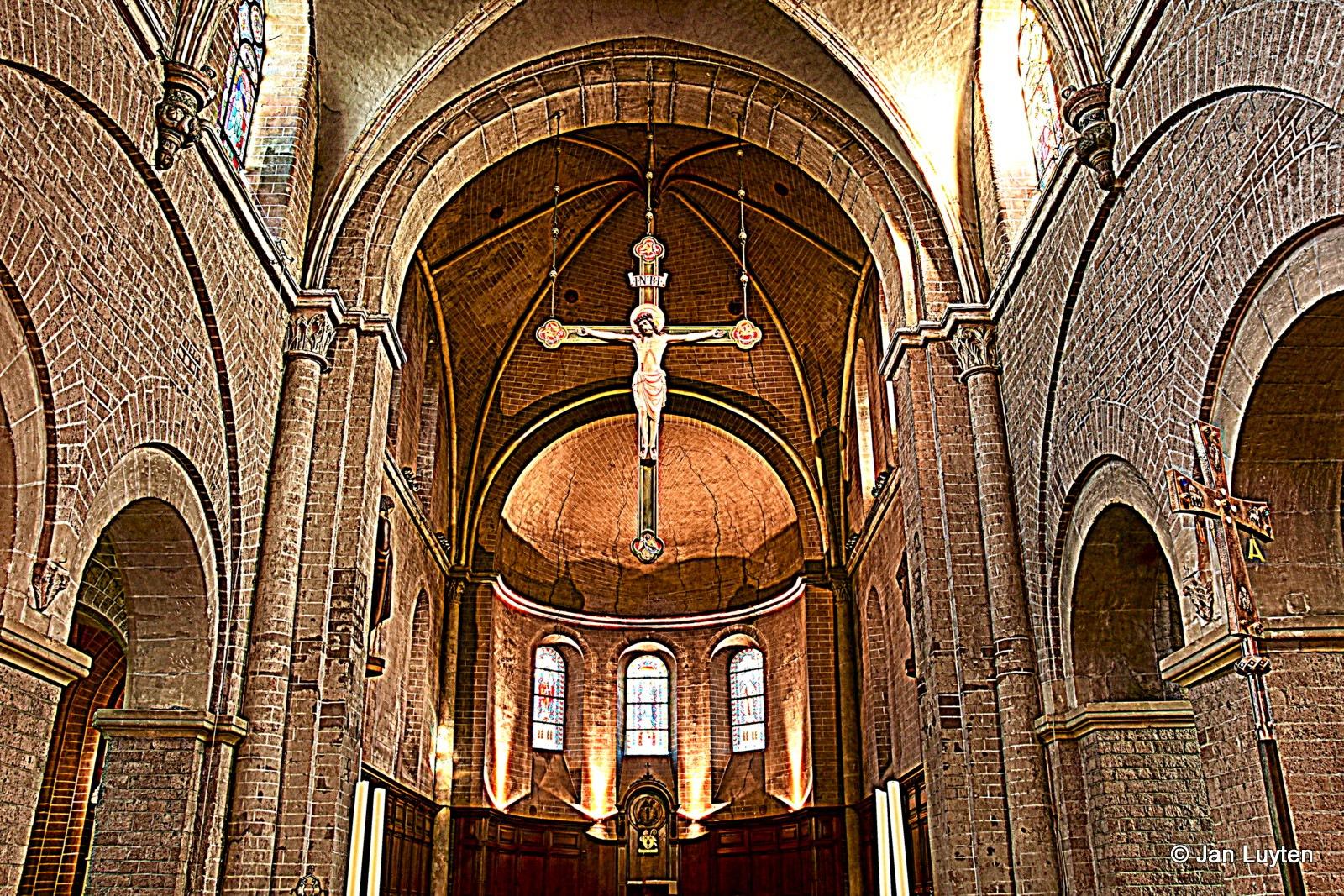 Kerk Postel by Jan Luyten