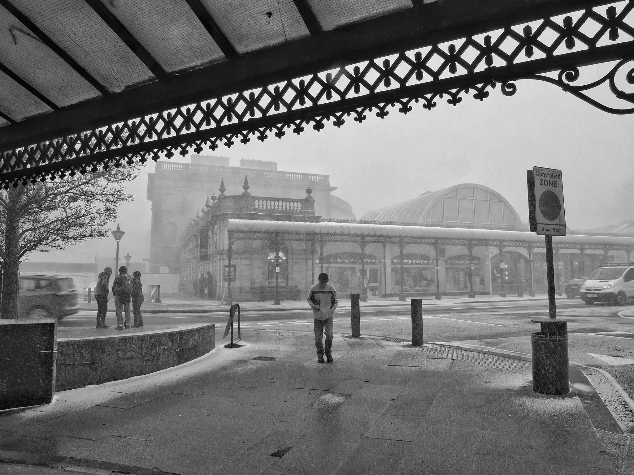 Snowy Day in Buxton by john.bradburn