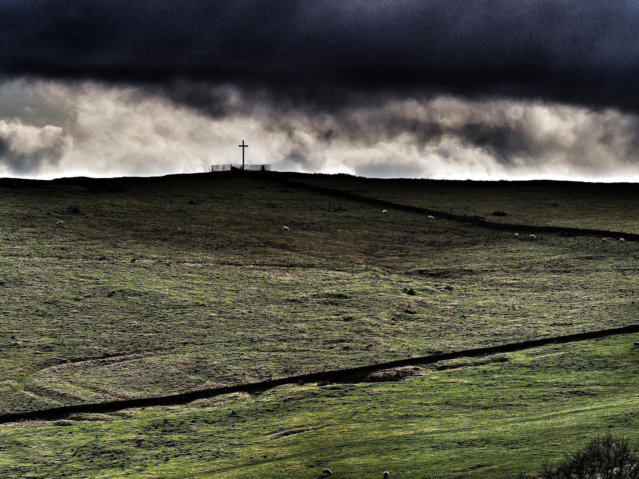 Corbar Cross, Buxton. by john.bradburn