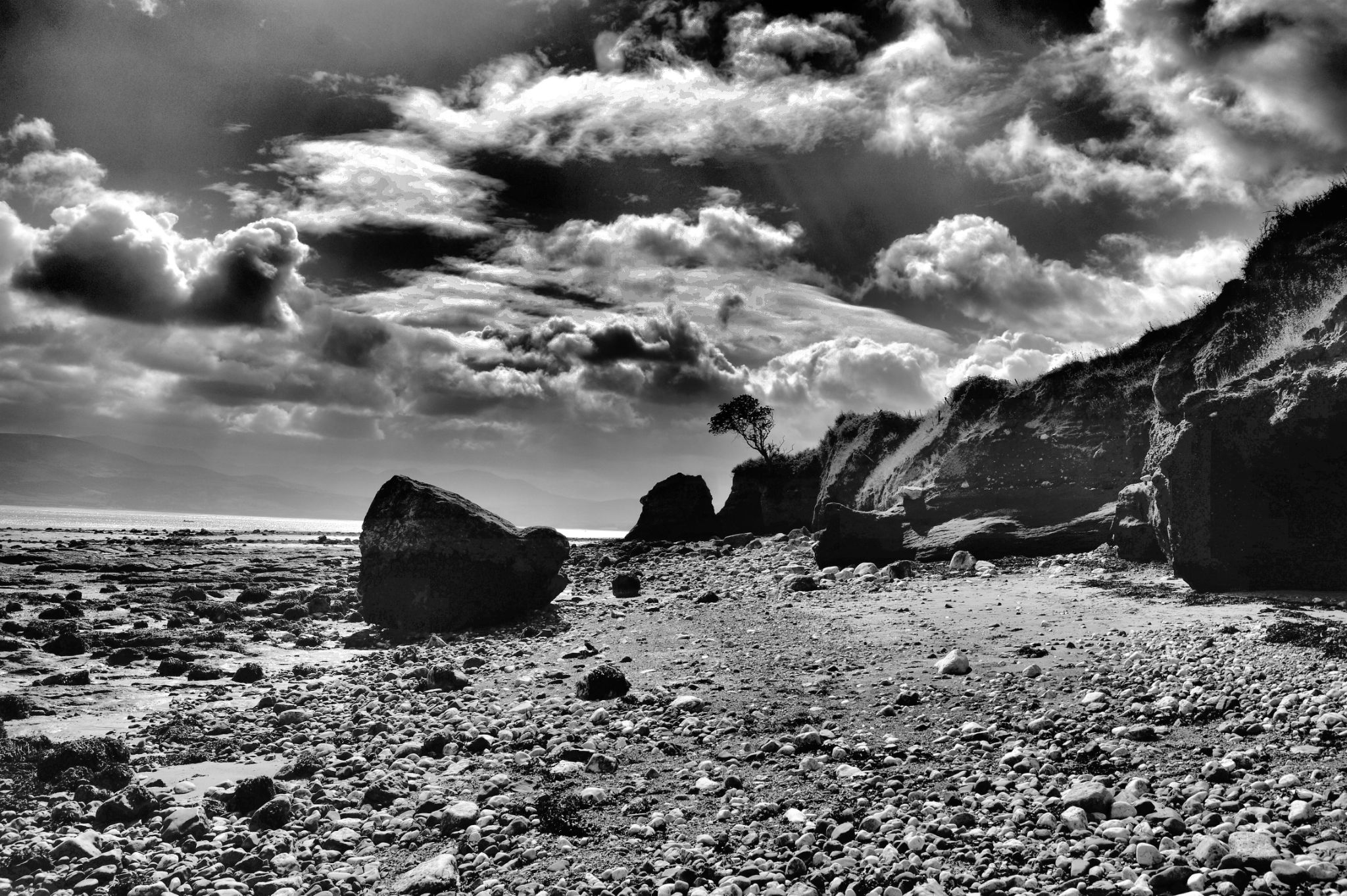 Beach near Beaumaris,Anglesey. by john.bradburn