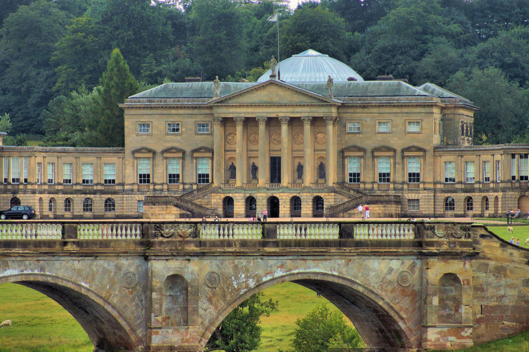Kedleston Hall, Derbyshire. by john.bradburn