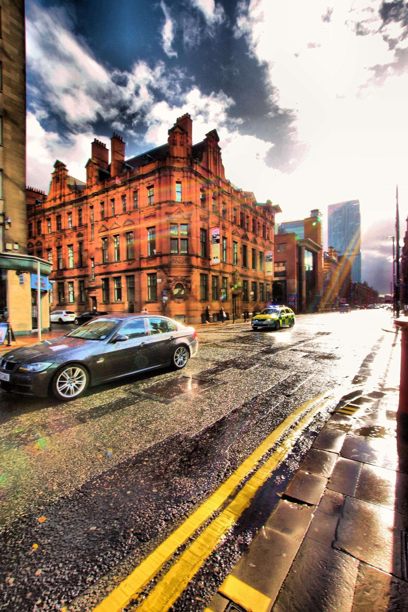 Emergency,Deansgate, Manchester. by john.bradburn