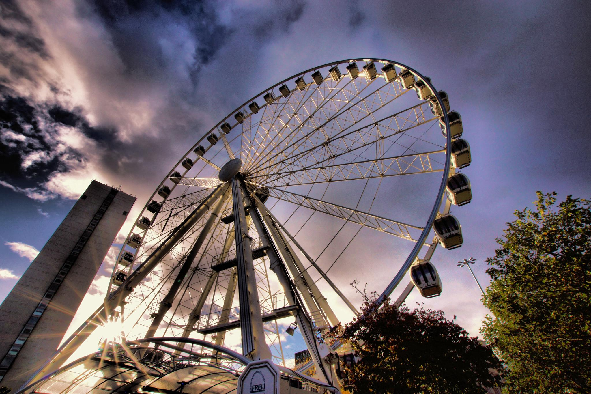 Big Wheel, Manchester. by john.bradburn