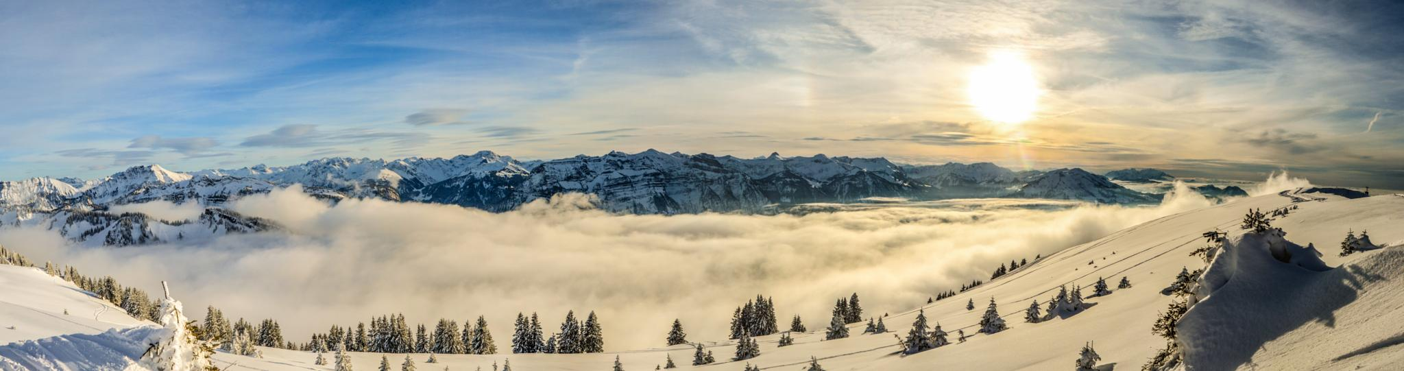 Bregenzerwald Panorama by jibbingpirates