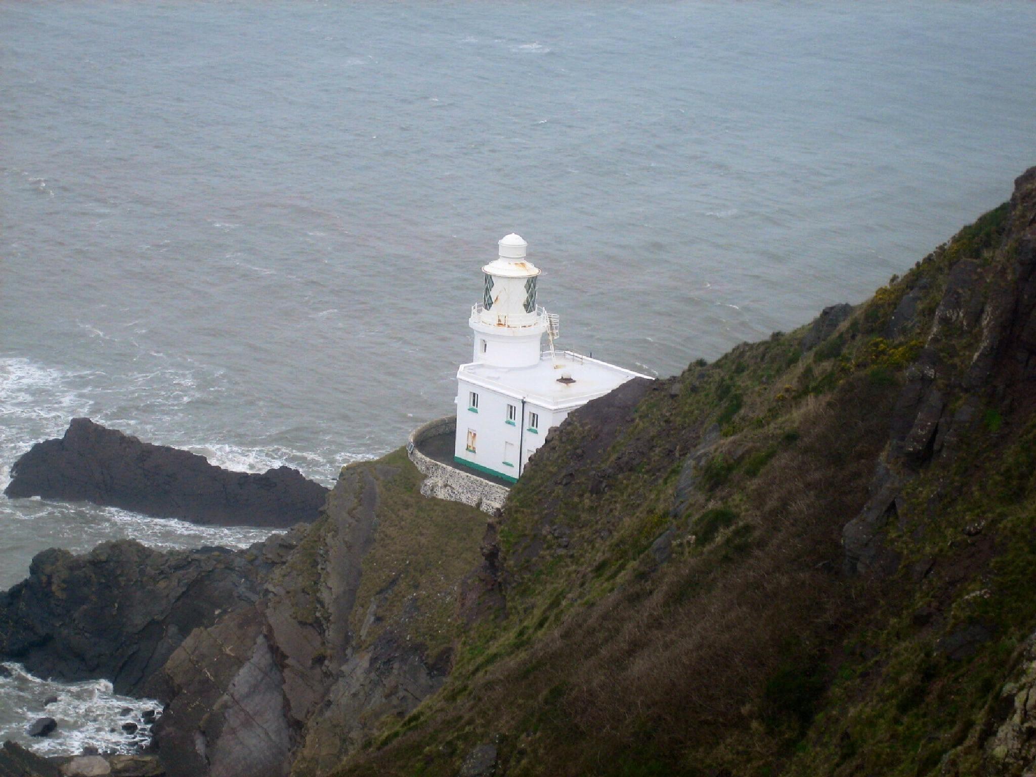 Lighthouse Hartland Point by ksoar1