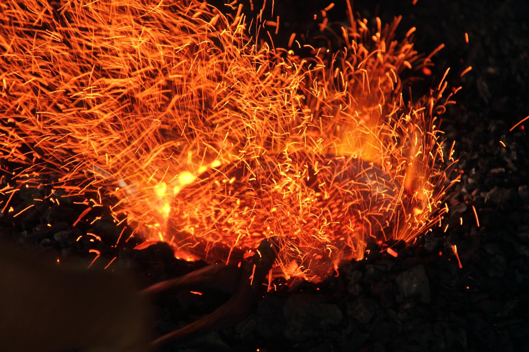 The Split Fire  by sadatbin