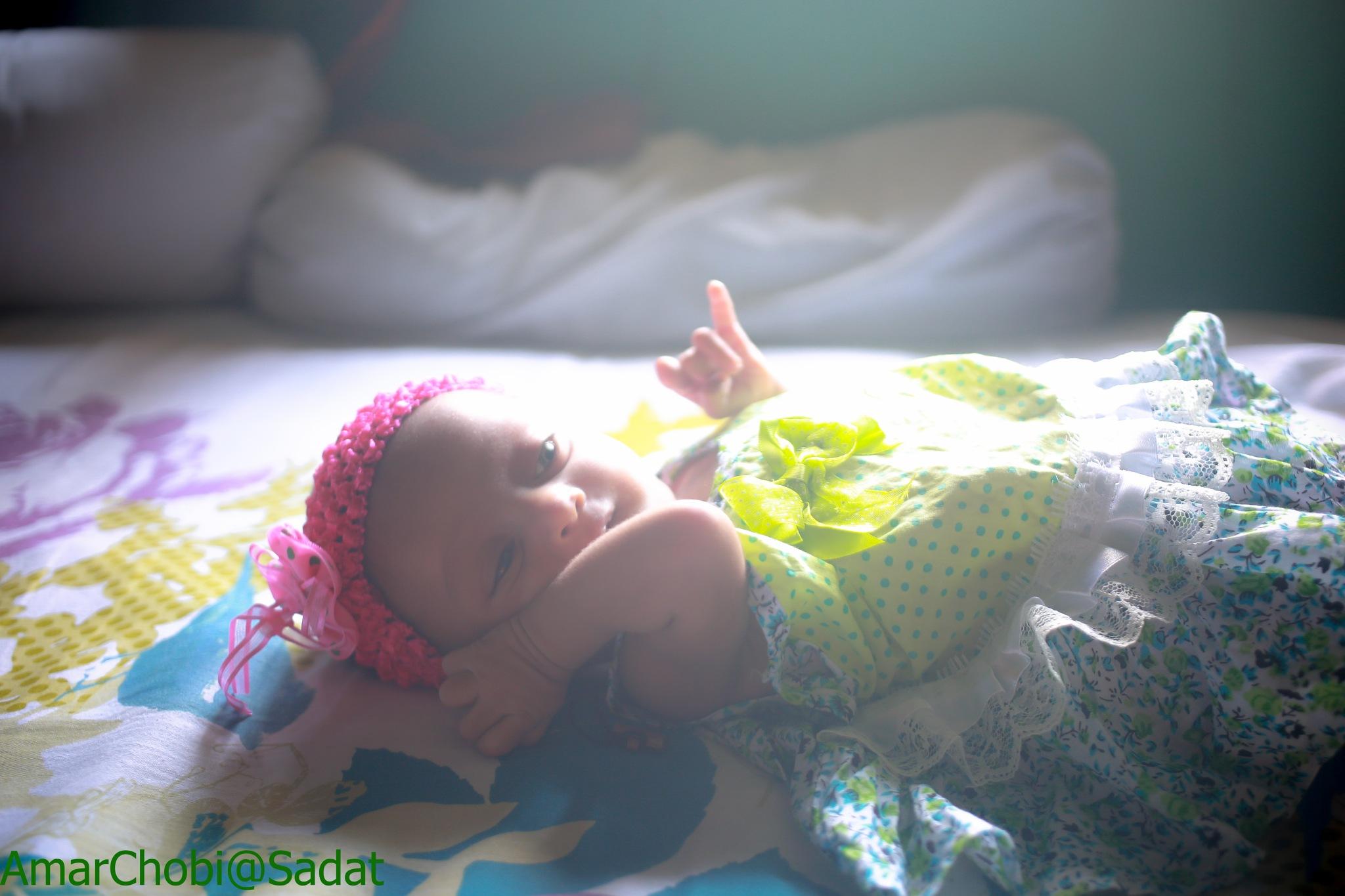 My Daughter- My Heartbeat by sadatbin