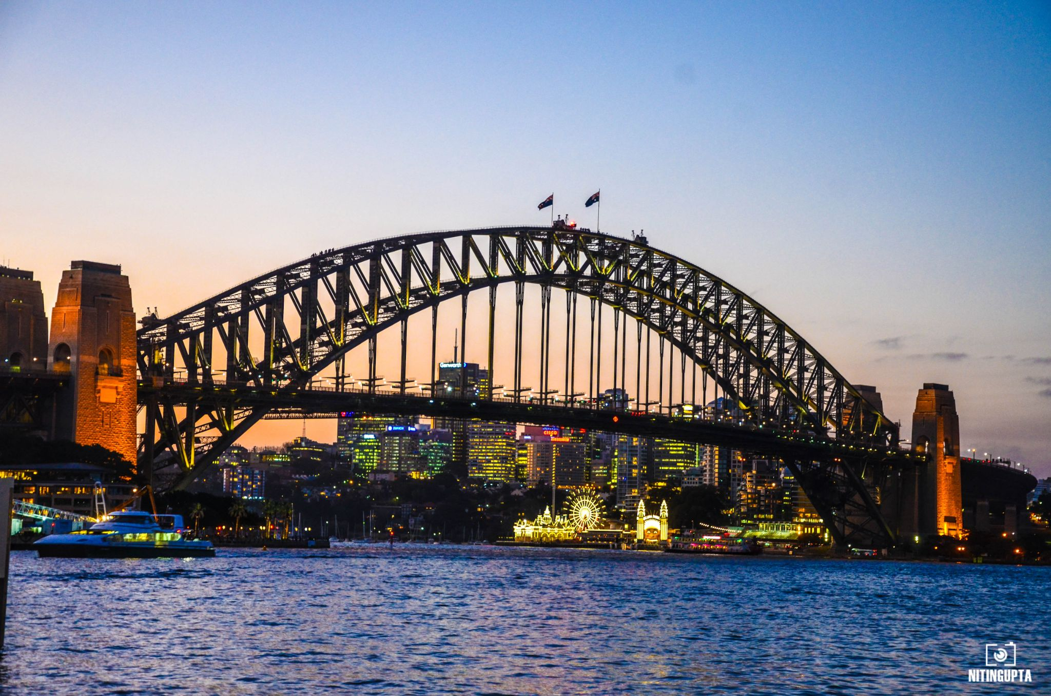 The Majestic Harbour Bridge by NitinG