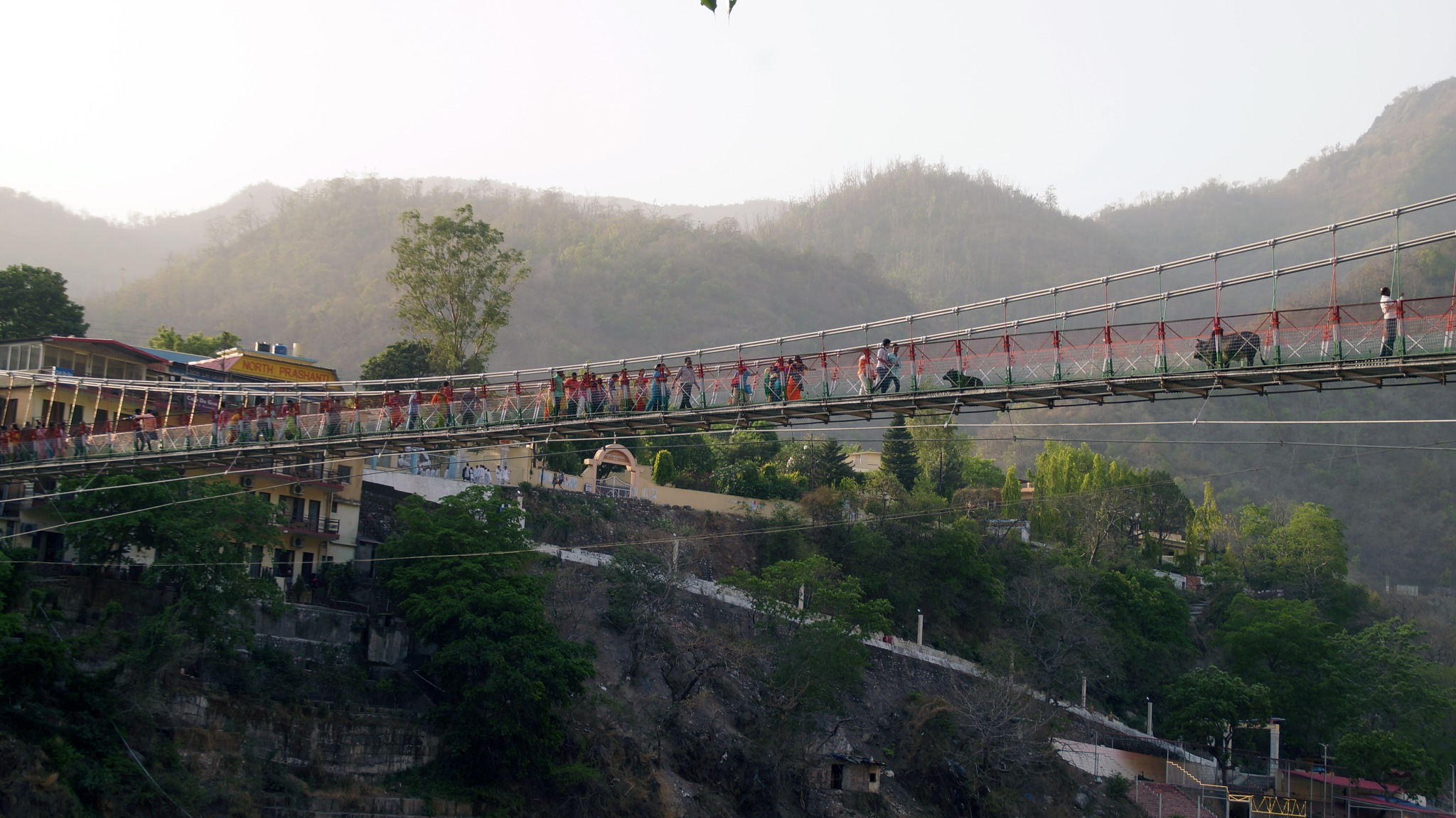 Laxman Jhula Bridge, Rishikesh, 2017 by lars.erlandsson.9