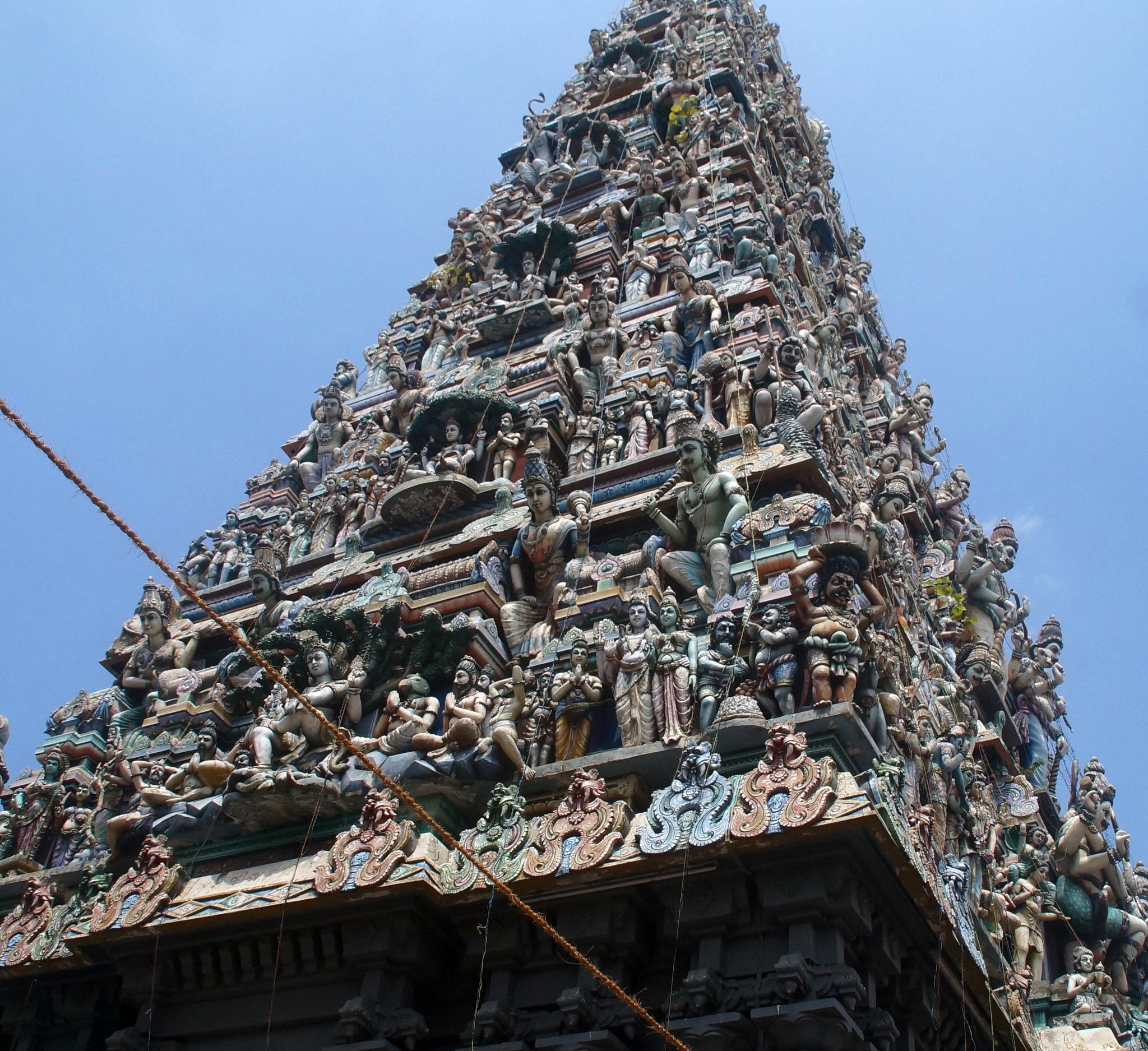 Old Hindu temple in Colombo, Sri Lanka 2018 by lars.erlandsson.9