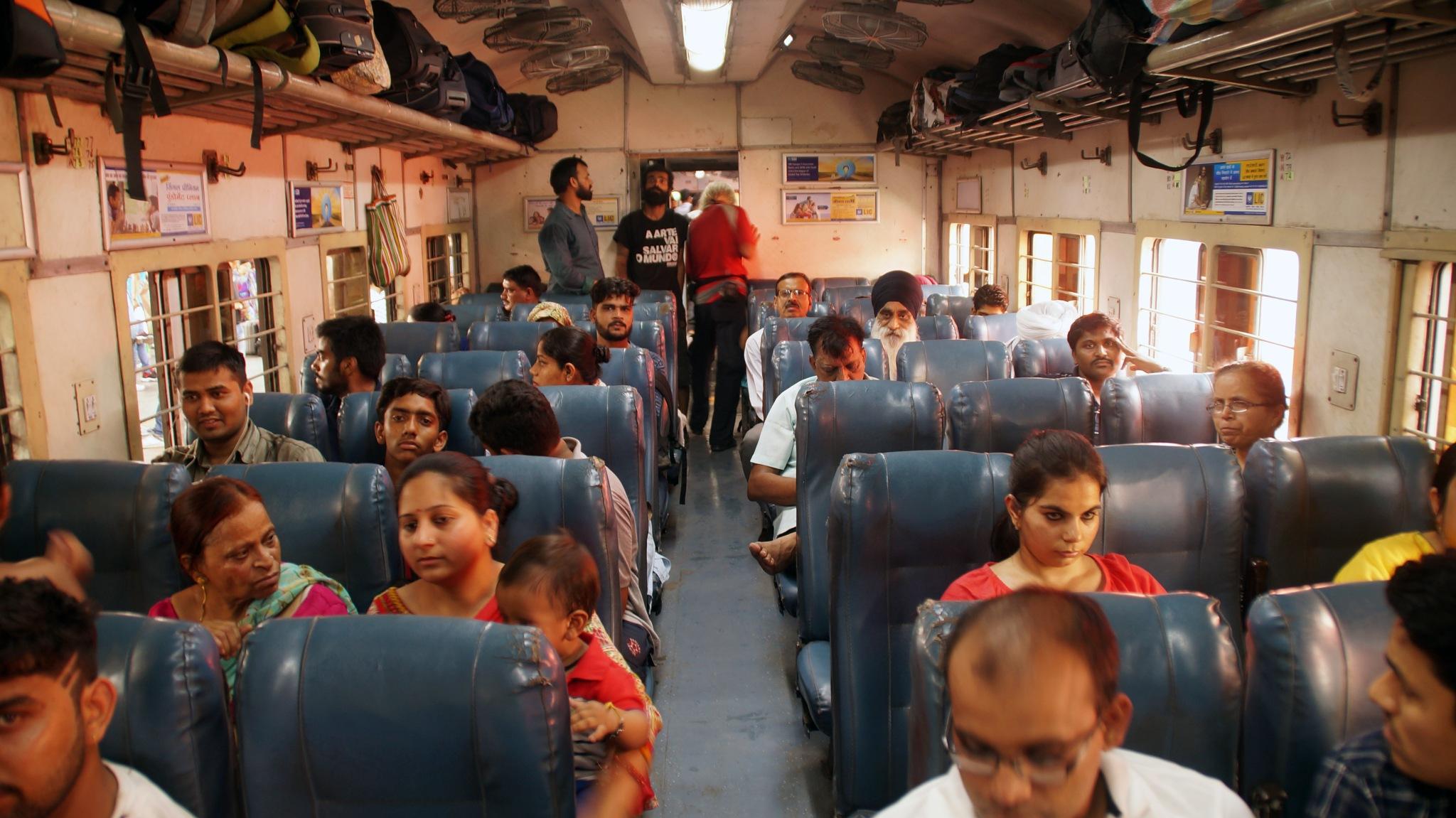New Delhi - Haridwar, second class, 2017 by lars.erlandsson.9