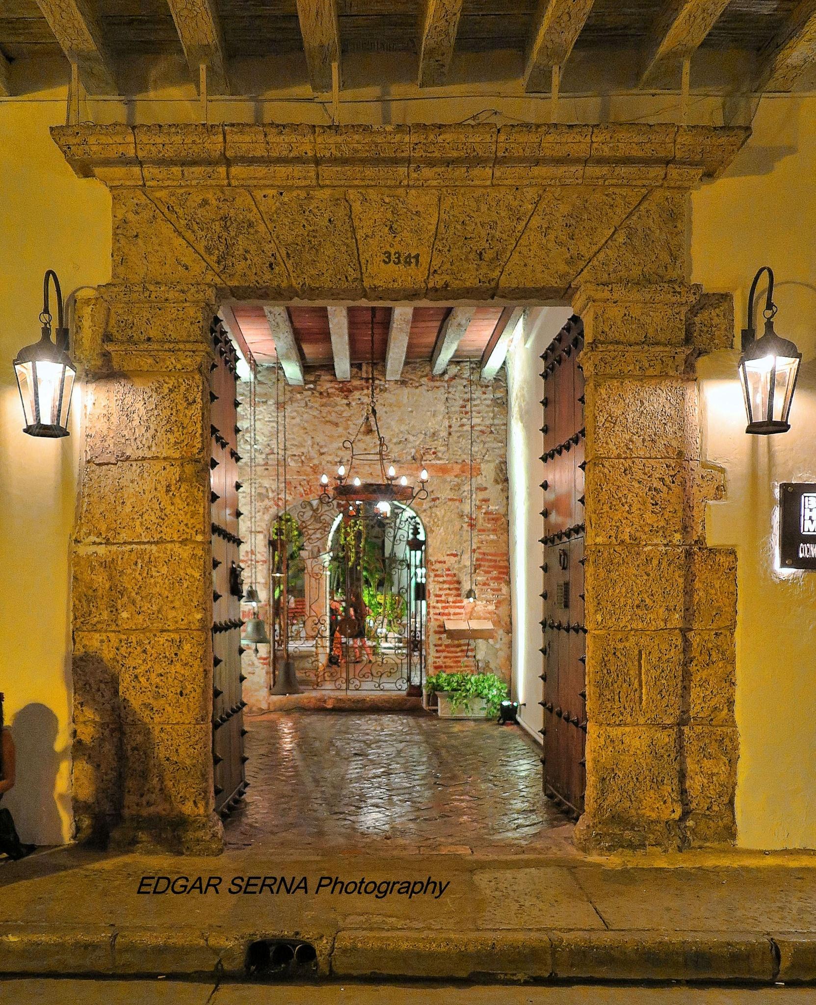 Entrance by Edgar Serna