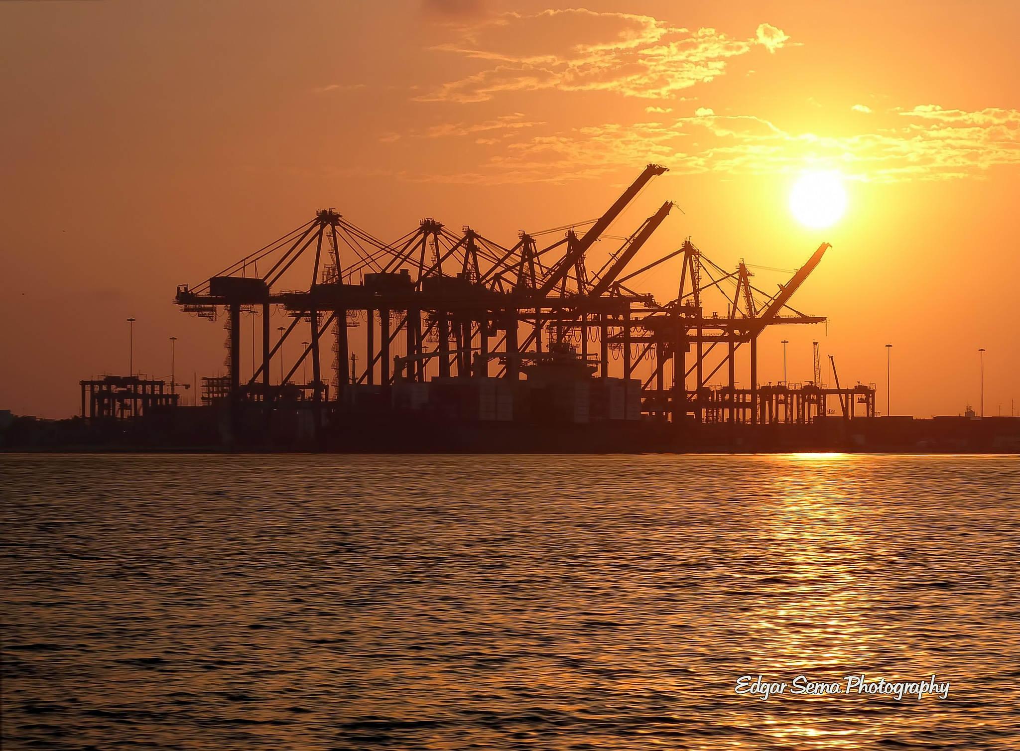 Port of Cartagena, Colombia by Edgar Serna