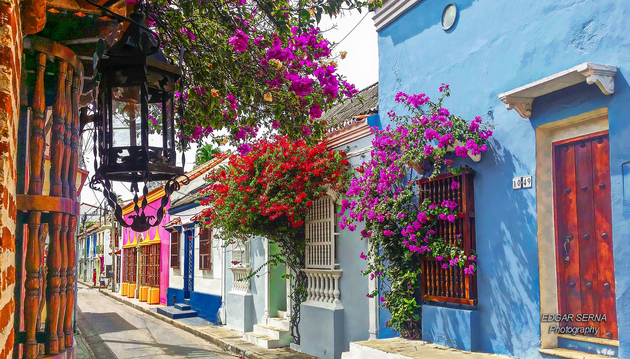 Streets of Cartagena by Edgar Serna