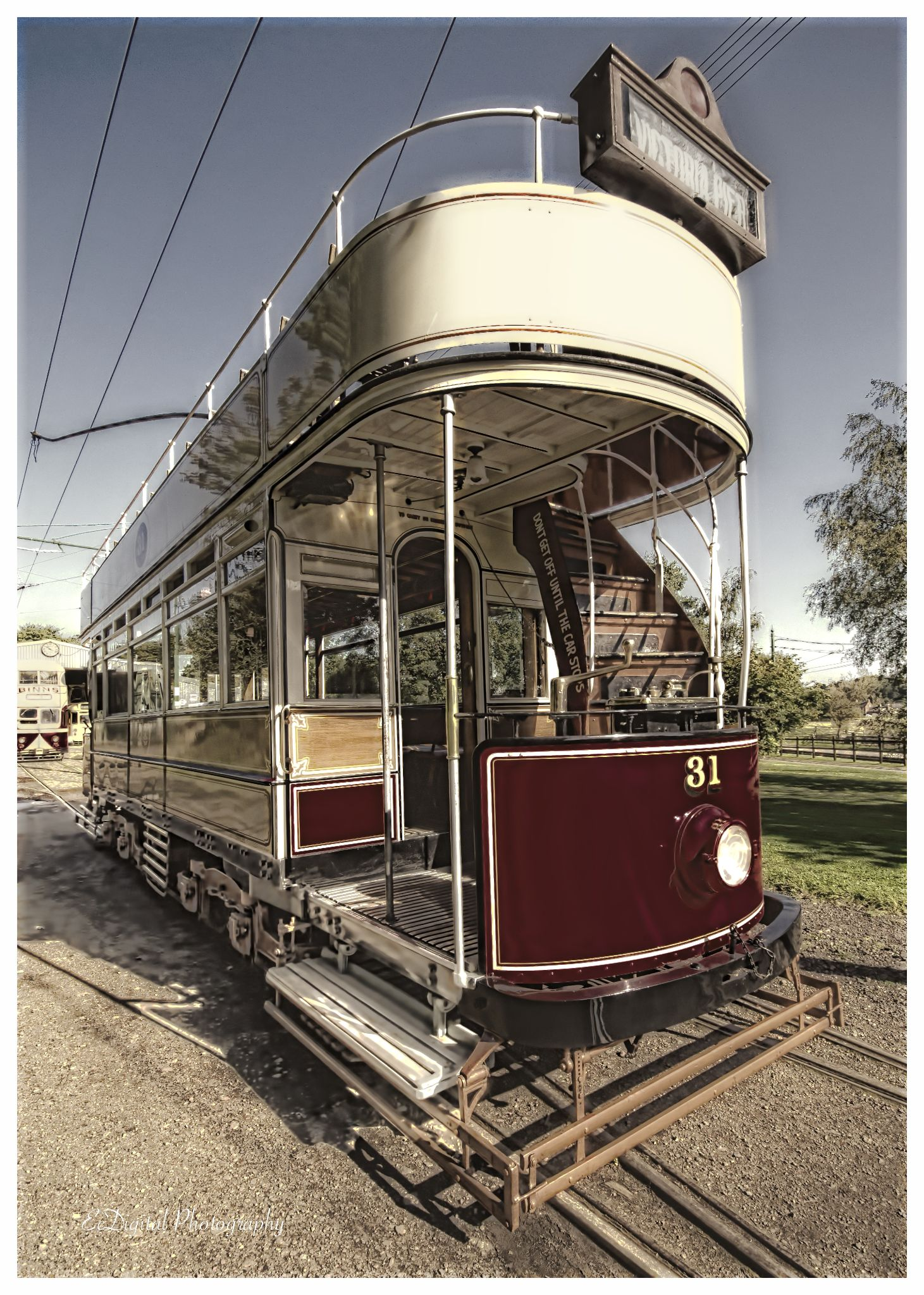 Tram by EcDigital Photography